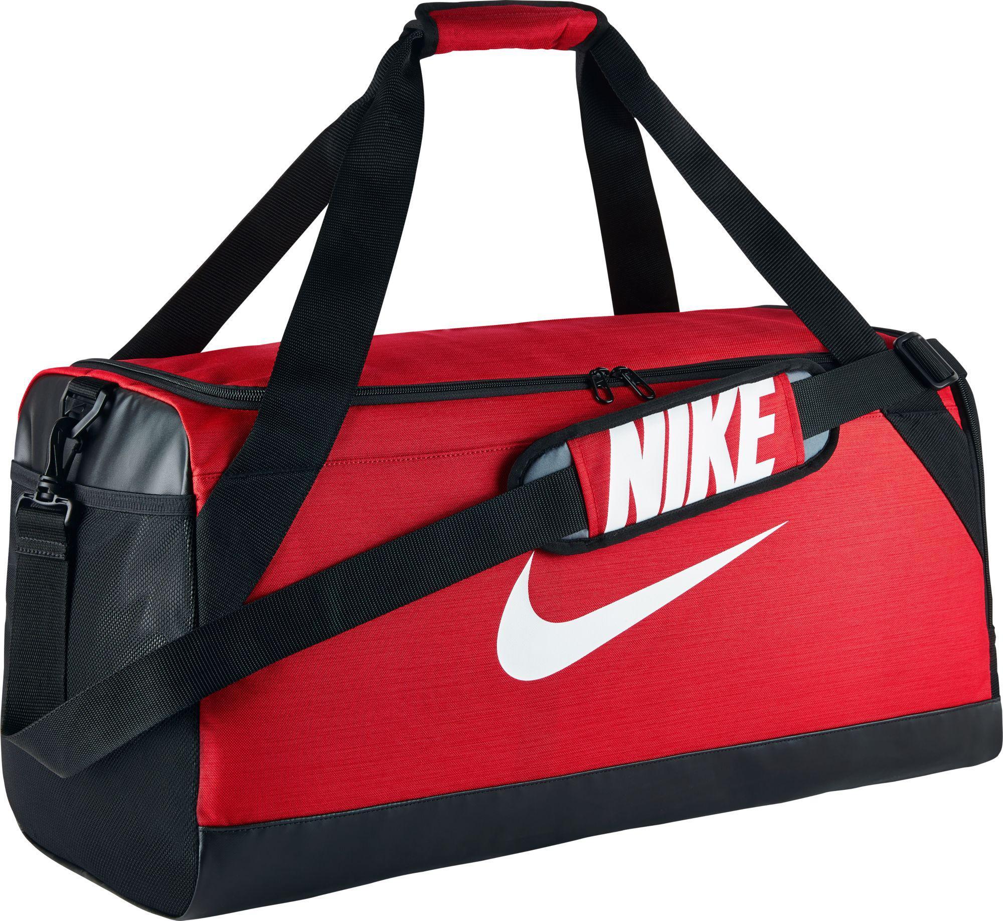 Lyst - Nike Rasilia Medium Training Duffle Bag in Red for Men 2c1d2a3ba0c0d