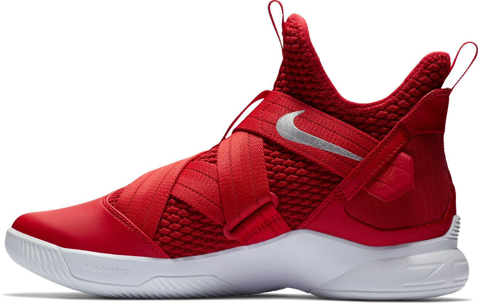 new concept dad52 c0183 Lyst - Nike Zoom Lebron Soldier Xii Tb Basketball Shoes in Red for Men