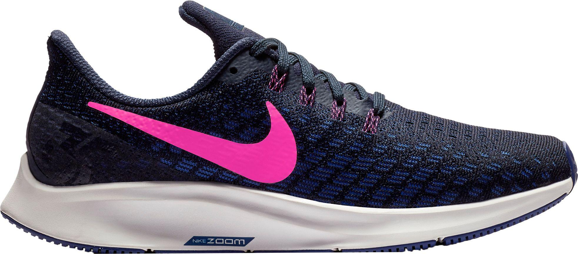 new arrival 19f34 69614 ... cheapest nike blue air zoom pegasus 35 running shoes lyst ab3a6 a8dba