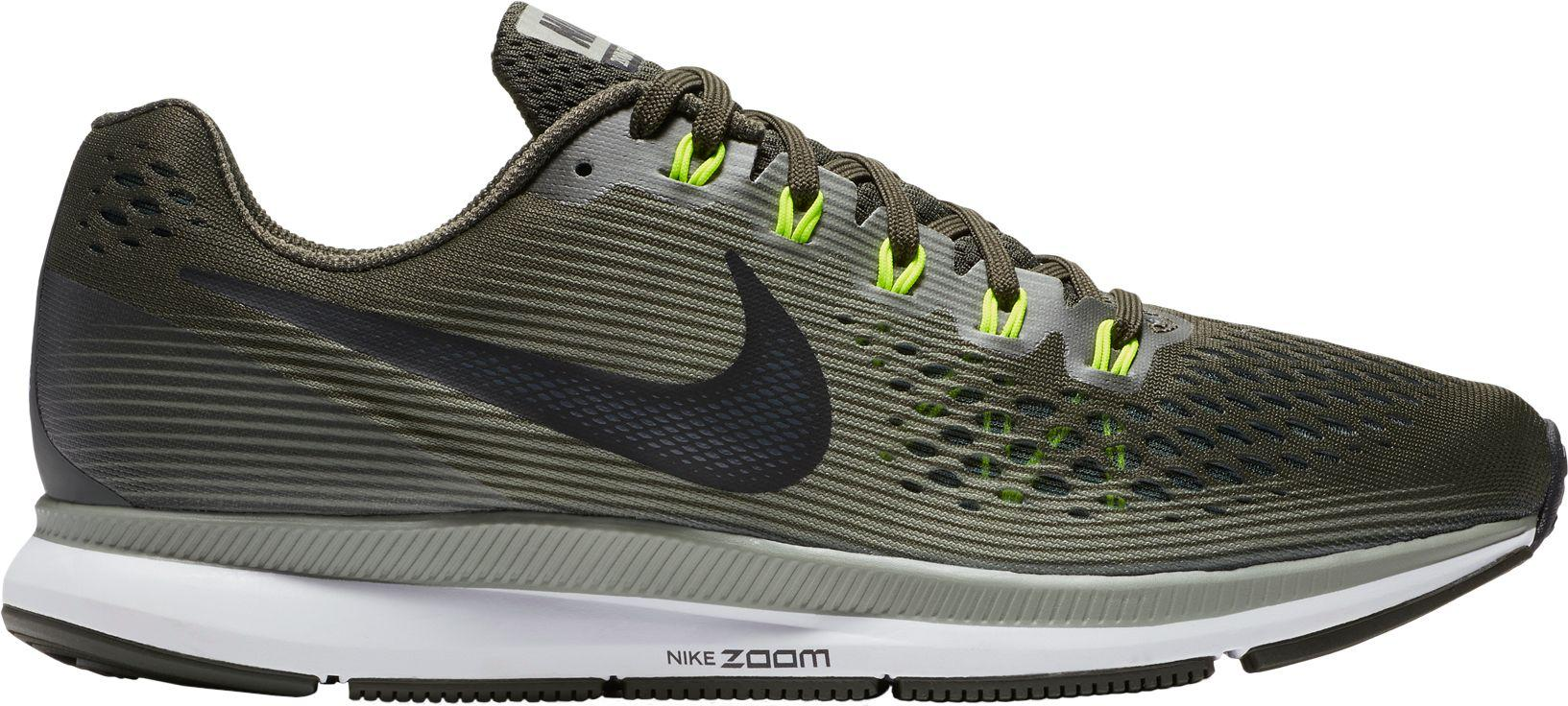 1ce189fbf65 ... coupon for nike green air zoom pegasus 34 running shoes for men lyst  8ccba 67859