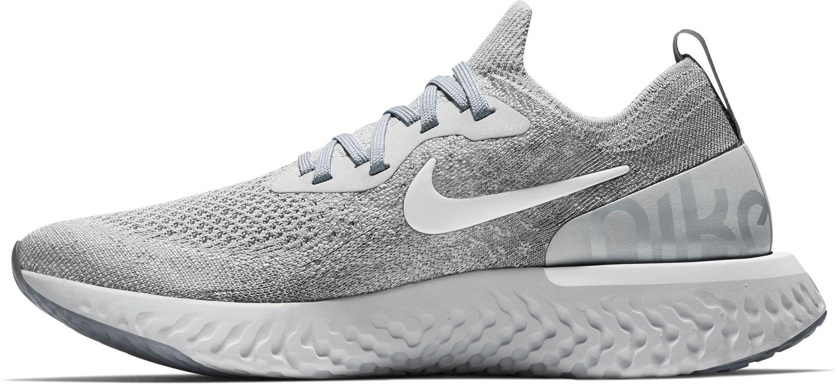 113bb44f8ed79d Lyst - Nike Epic React Flyknit Running Shoes in Gray