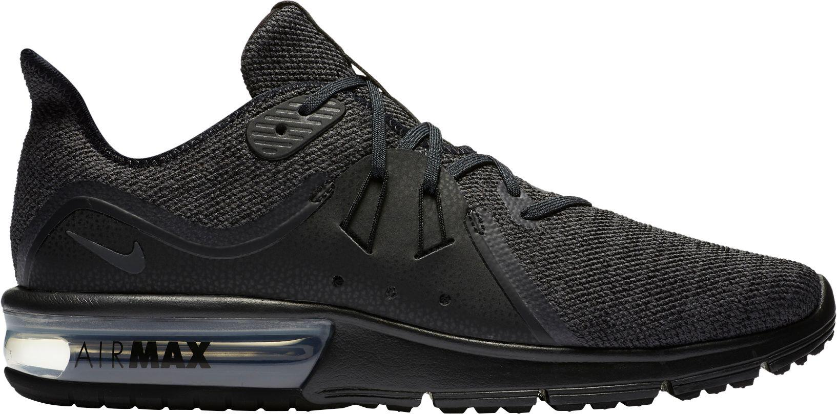 518fe245282 Lyst - Nike Air Max Sequent 3 Shoe in Black for Men