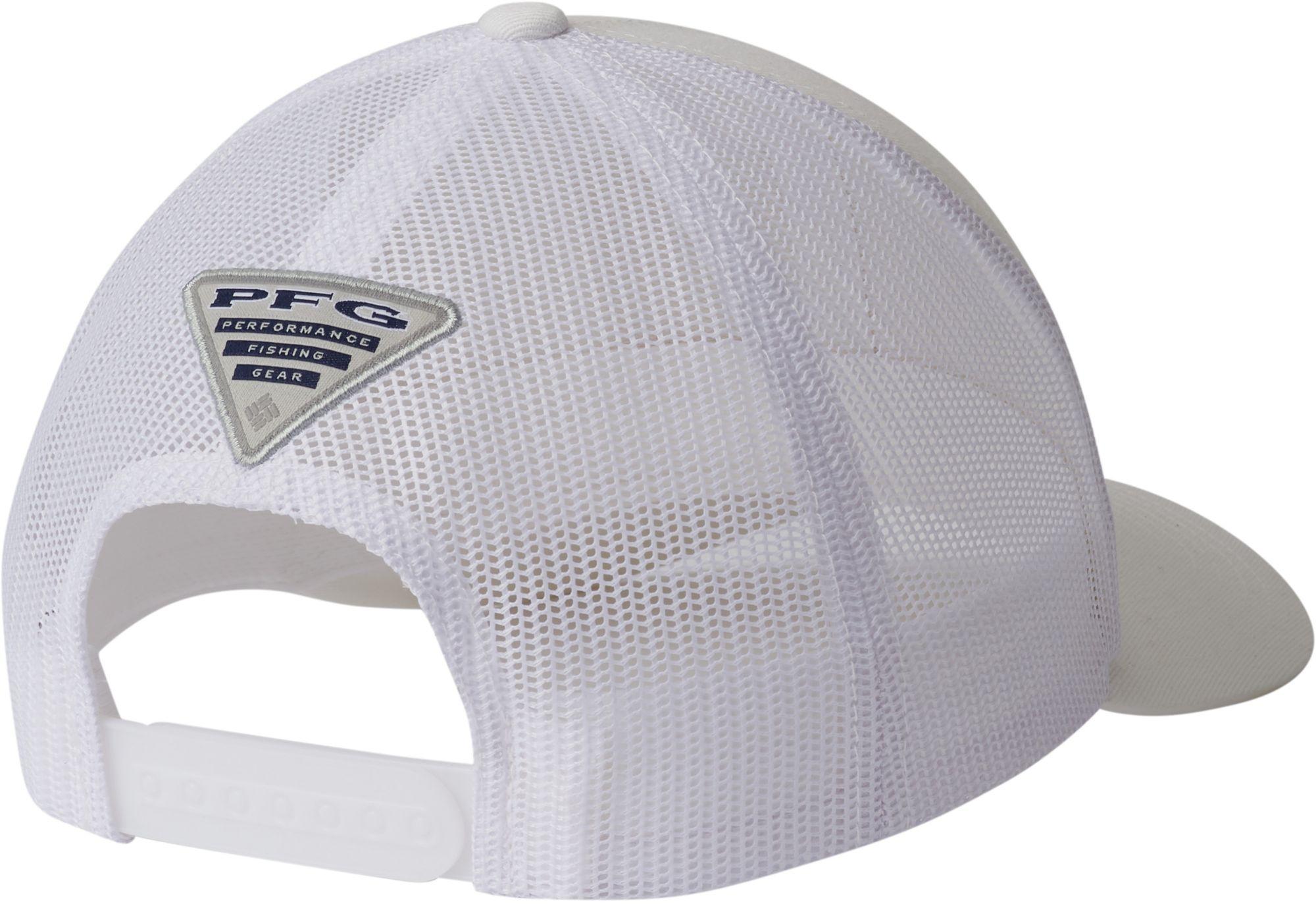8753167a29fe9 Columbia - White Pfg Mesh Snapback Fish Flag Hat for Men - Lyst. View  fullscreen