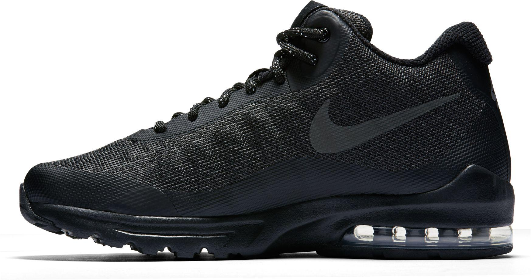 a03e82fc46 Nike Air Max Invigor Mid Shoes in Black for Men - Lyst