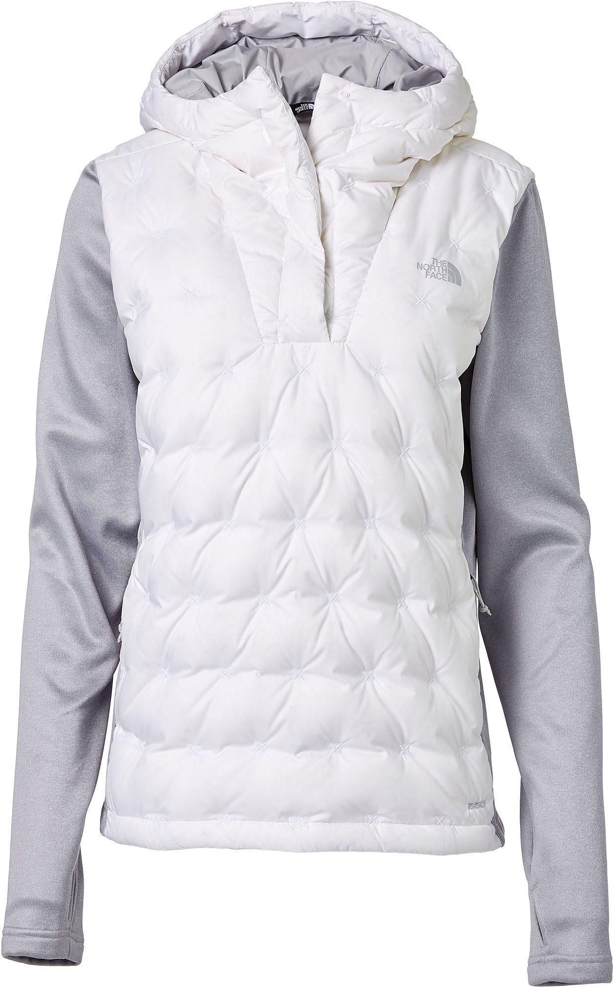 004b108fe The North Face White Mash-up Insulated Pullover