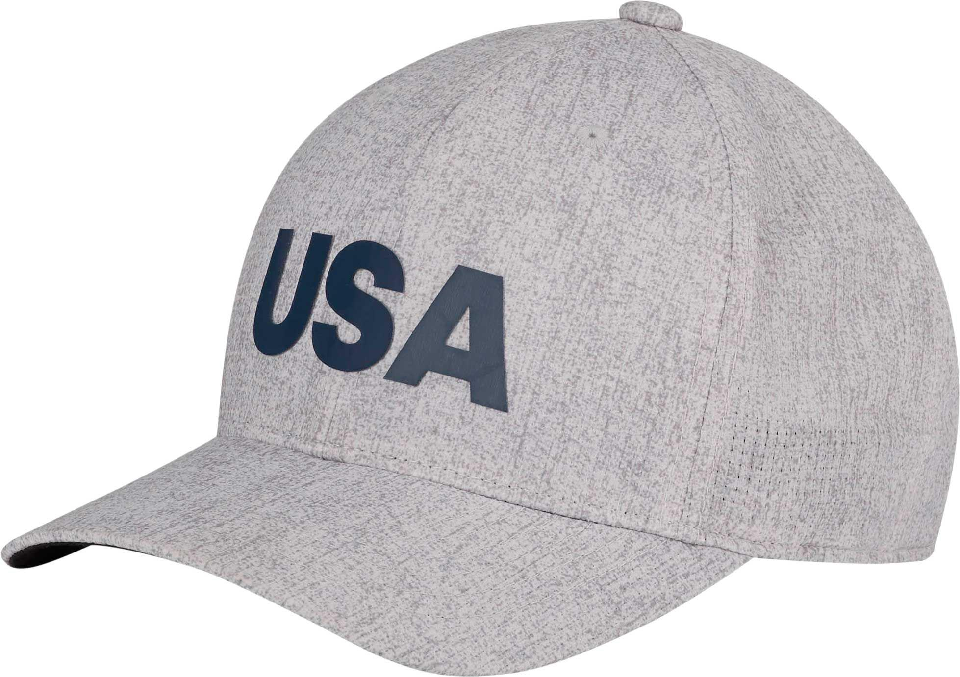 d8f33254339 Lyst - adidas Heathered Usa Golf Hat in Gray for Men