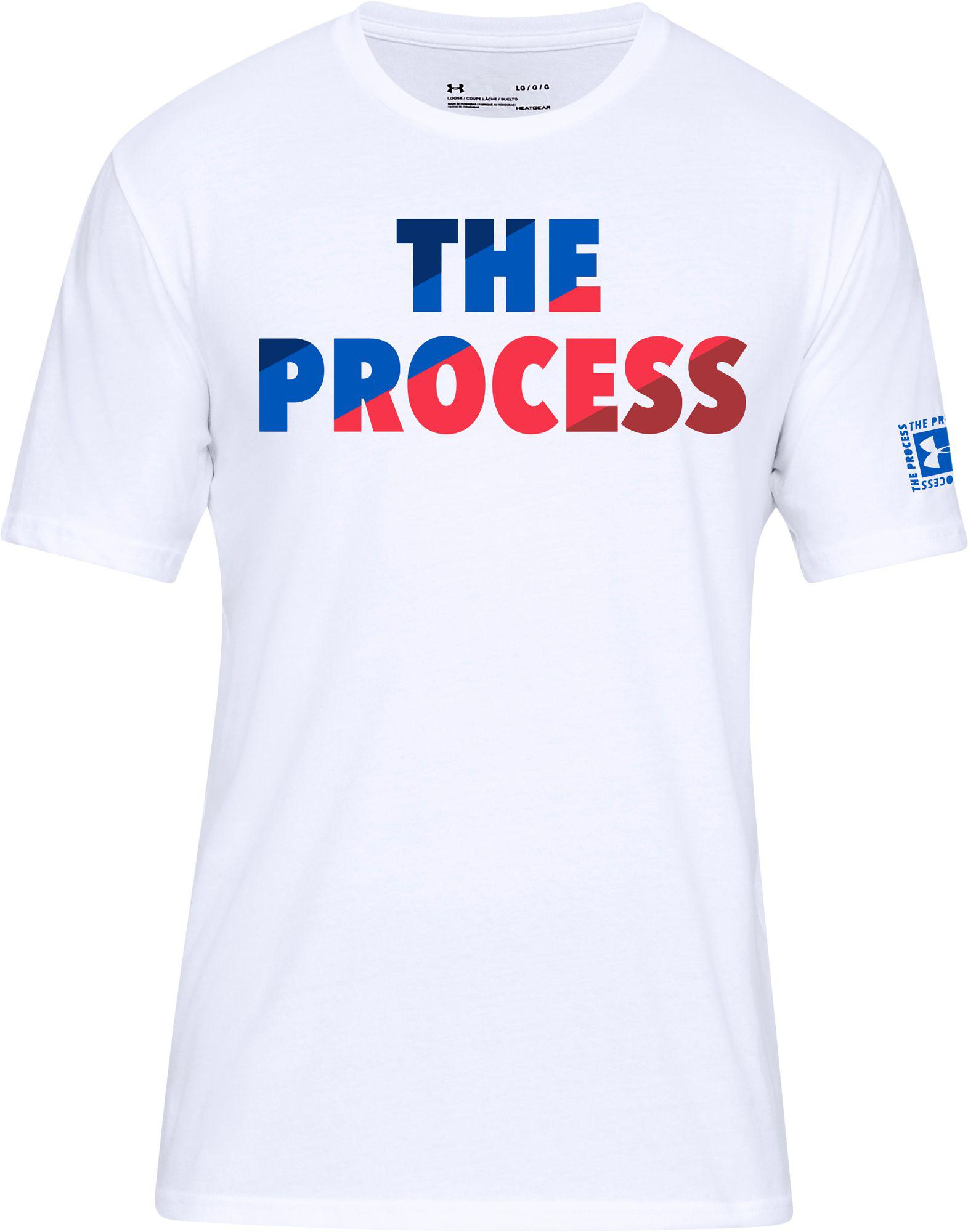 0d34aa4c Under Armour The Process Graphic T-shirt in White for Men - Lyst