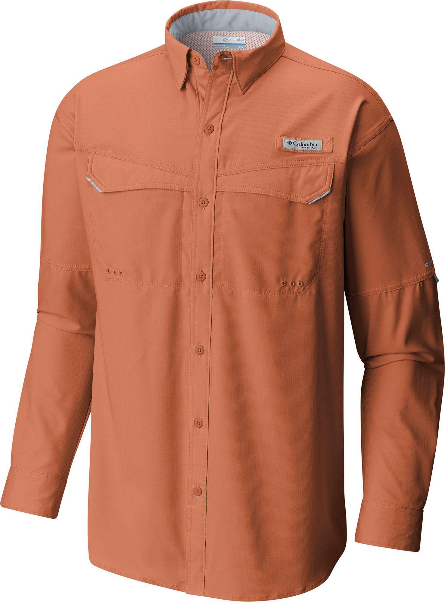 Columbia ~ PFG Bahama II Omni-Shade Men/'s Large Tall Long Sleeve Shirt $55 NWT
