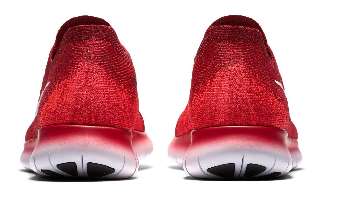 9bab619b571d8 Lyst - Nike Free Rn Flyknit 2017 Running Shoes in Red for Men
