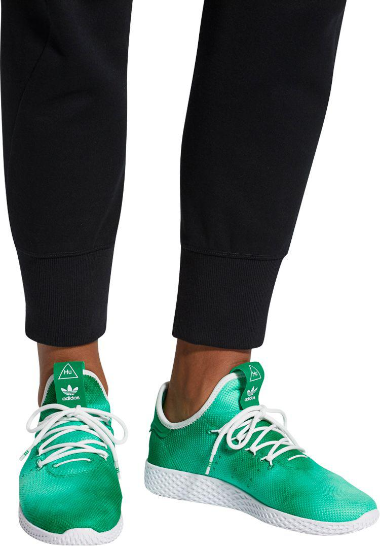 06f4983f adidas Originals Pharrell Williams Tennis Hu Holi Shoes in Green for ...