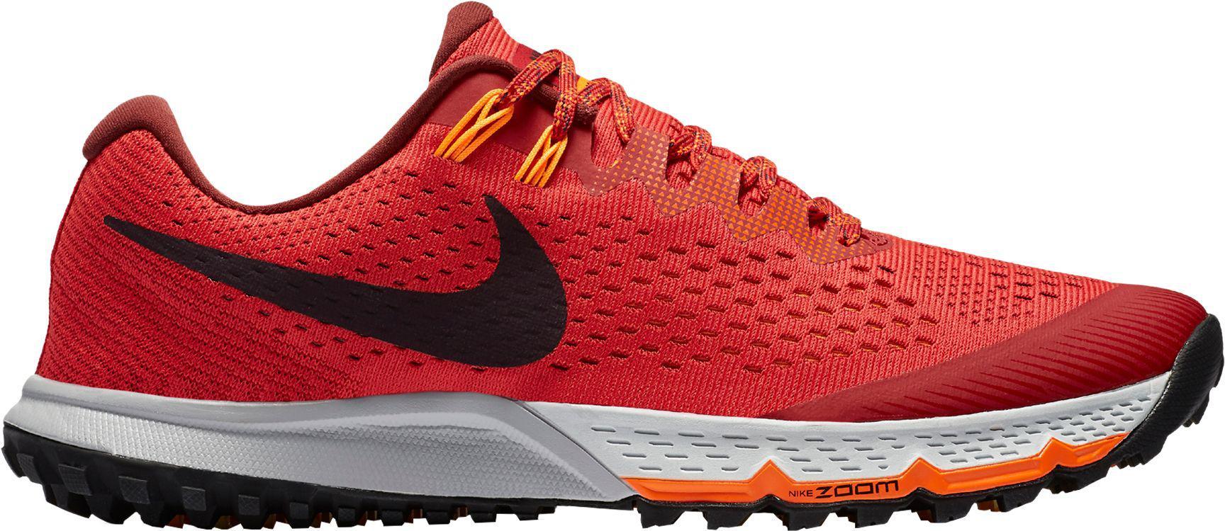 buy online cdac1 961cf Men's Red Air Zoom Terra Kiger 4 Trail Running Shoes