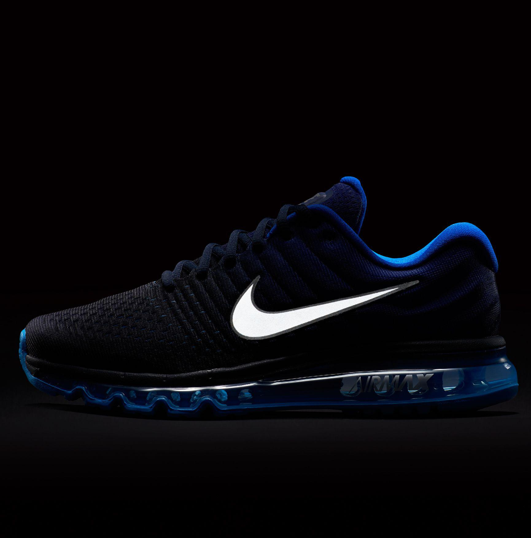 Nike - Blue Air Max 2017 Running Shoes for Men - Lyst