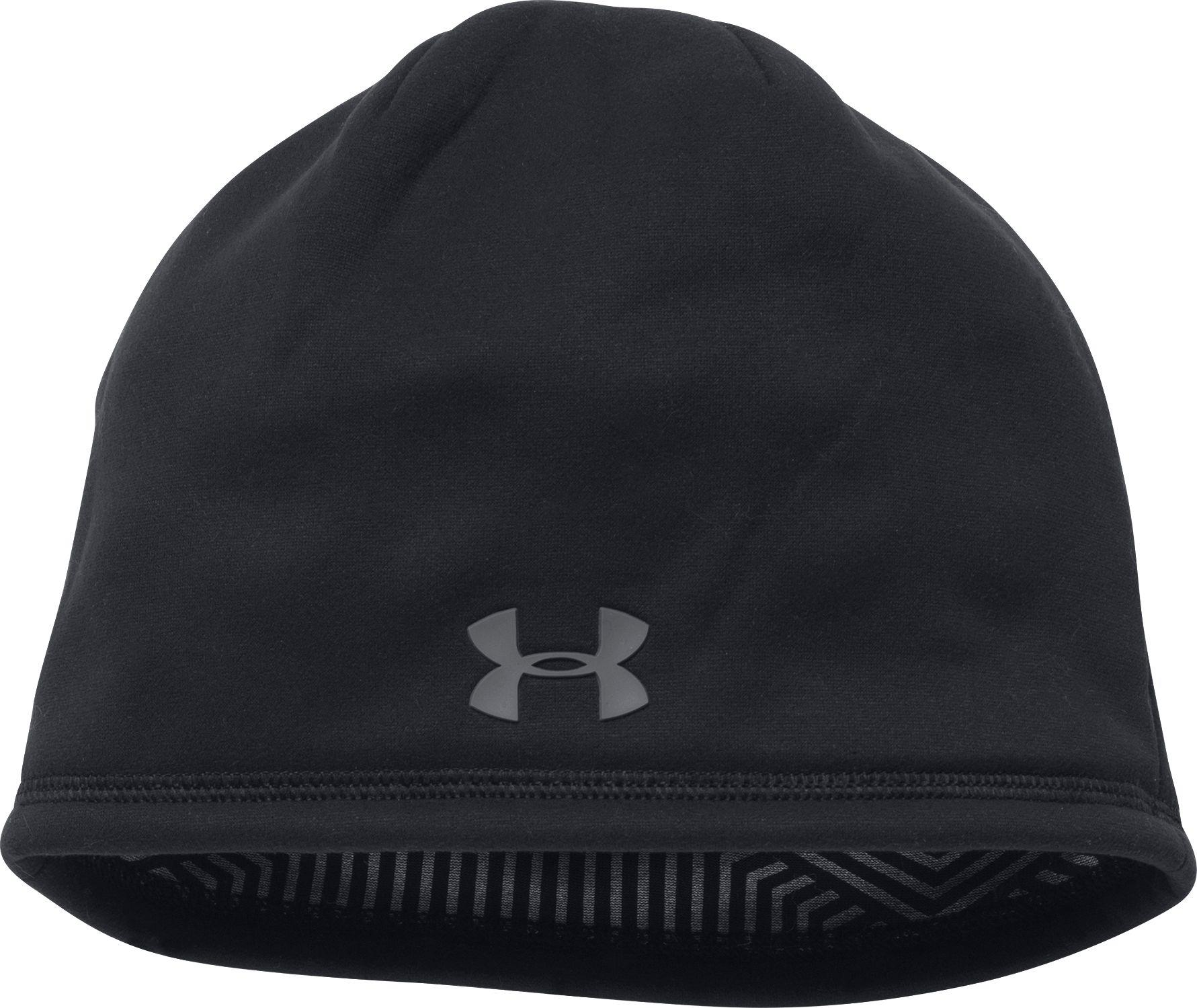 5feda920293 Under Armour - Black Coldgear Infrared Elements Storm 2.0 Beanie for Men -  Lyst