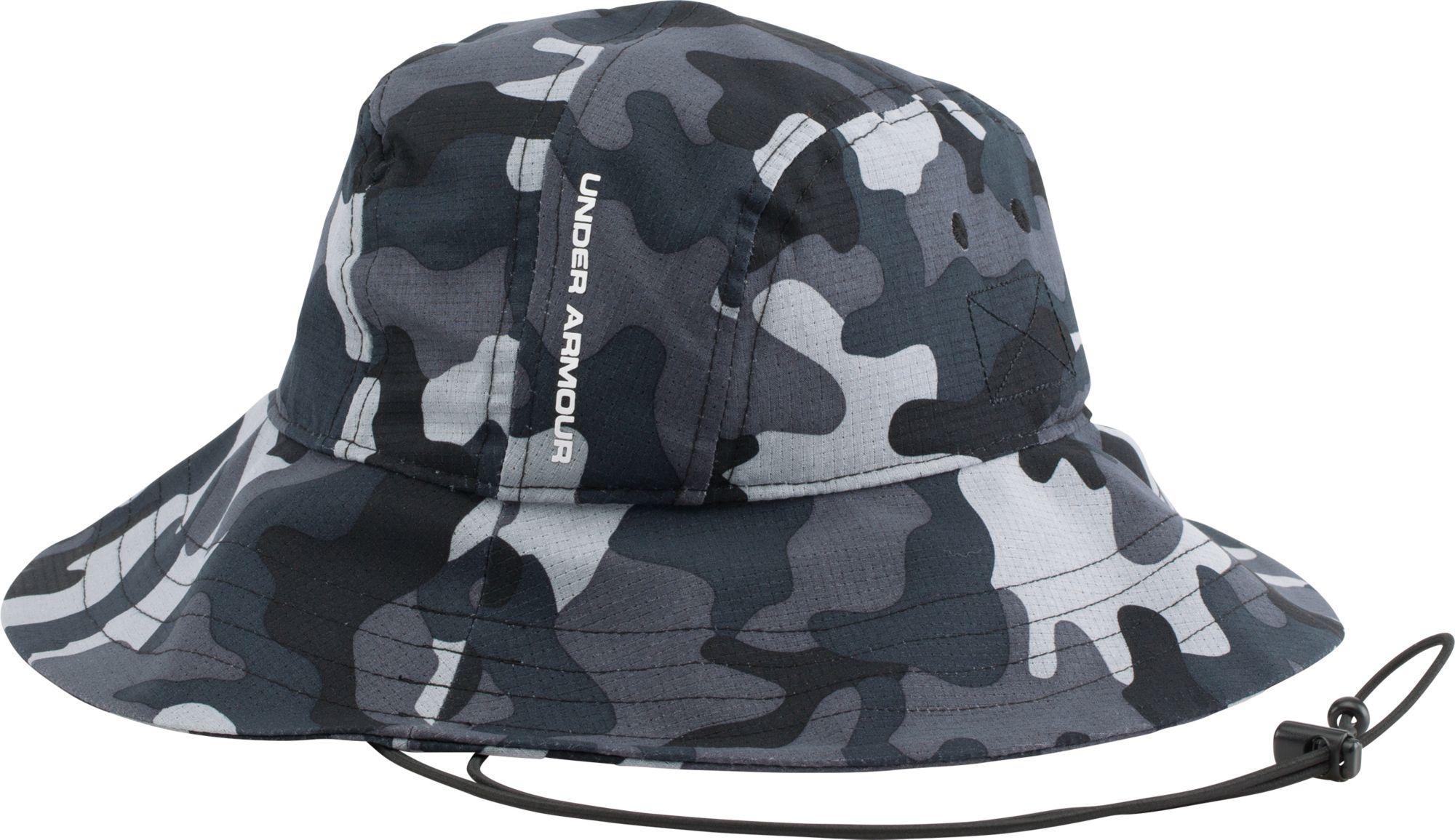 Under Armour Ua Airvent Bucket Hat In Black For Men Lyst