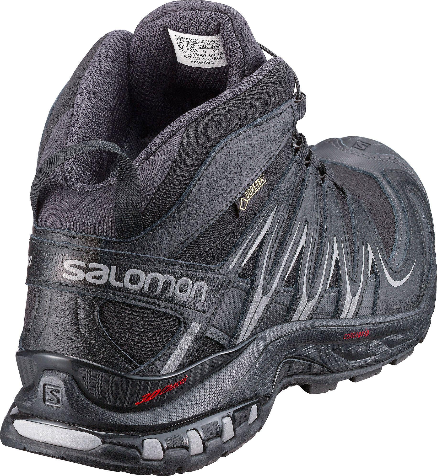 Pro Black Shoes For Mid Gore Tex Trail Salomon Men Xa Running Yves A54LRj
