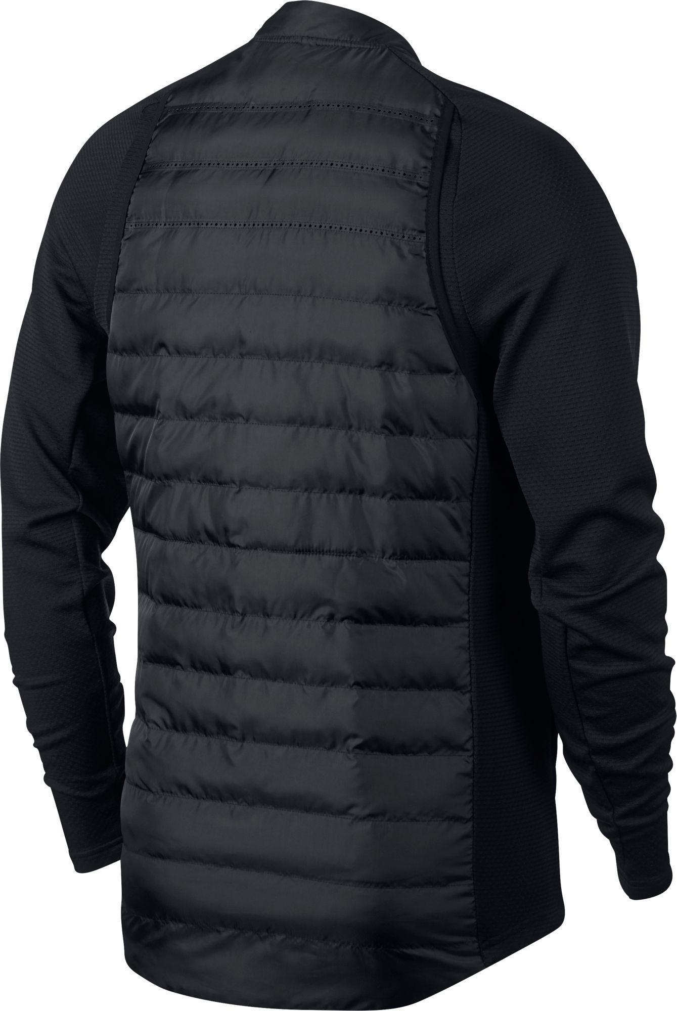 online retailer 3b5c7 f56d2 Nike Aeroloft Hyperadapt Golf Jacket in Black for Men - Lyst