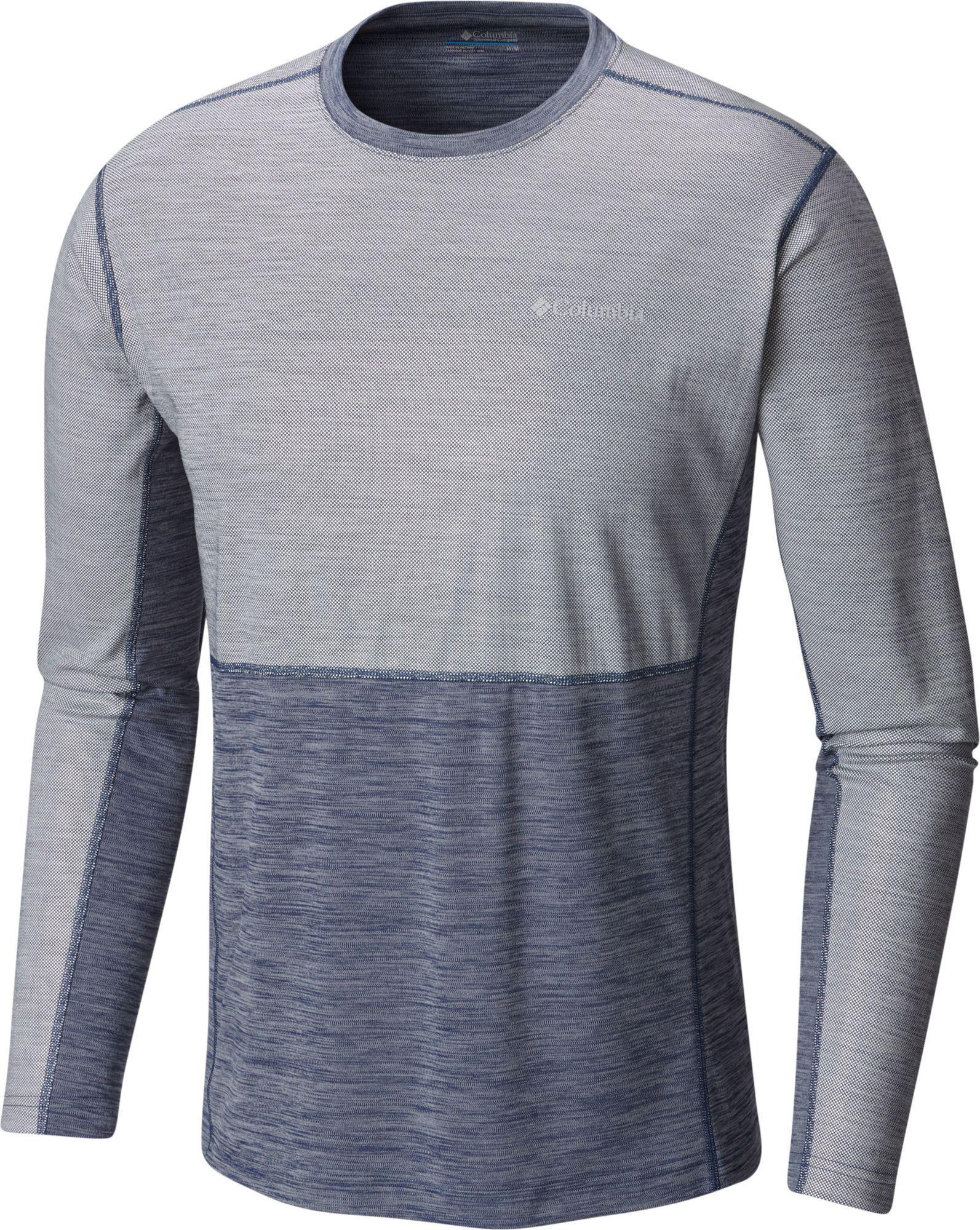 ed67ad4c23b Lyst - Columbia Solar Chill Long Sleeve Shirt in Gray for Men