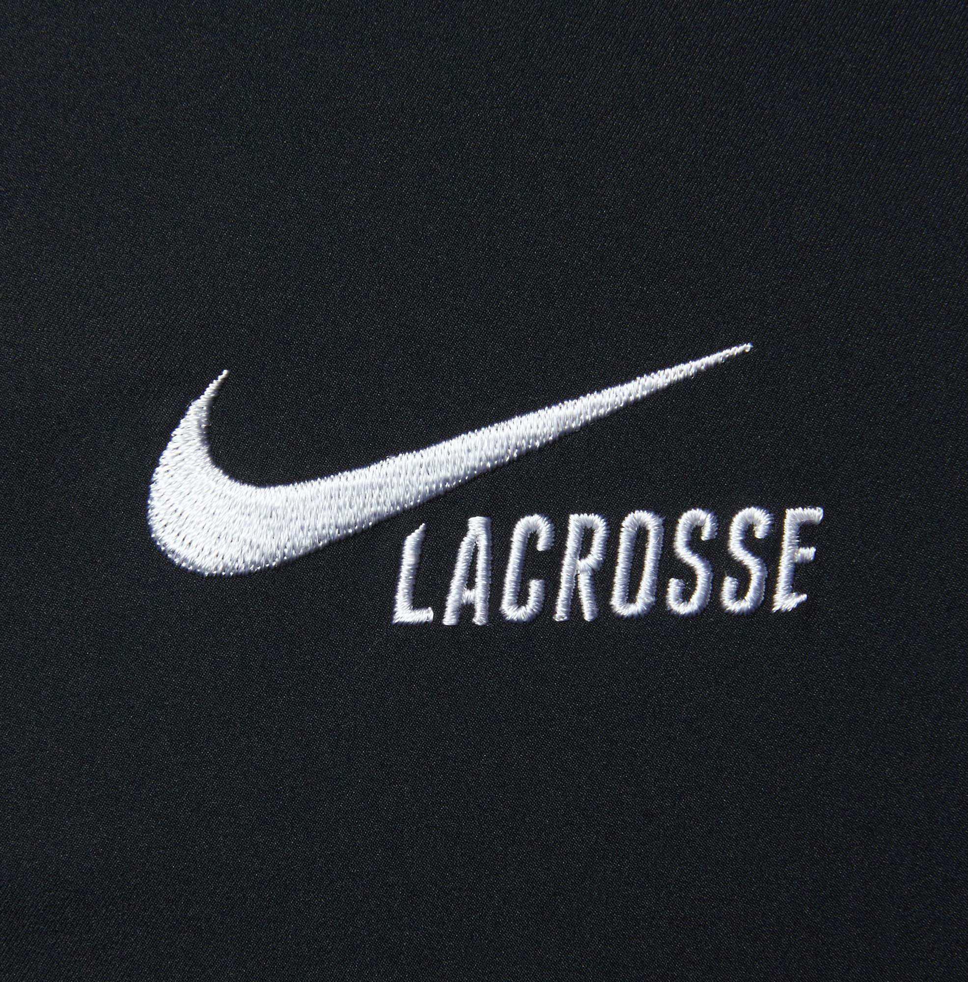 Nike Black Dry Fast Break Lacrosse Pants for men