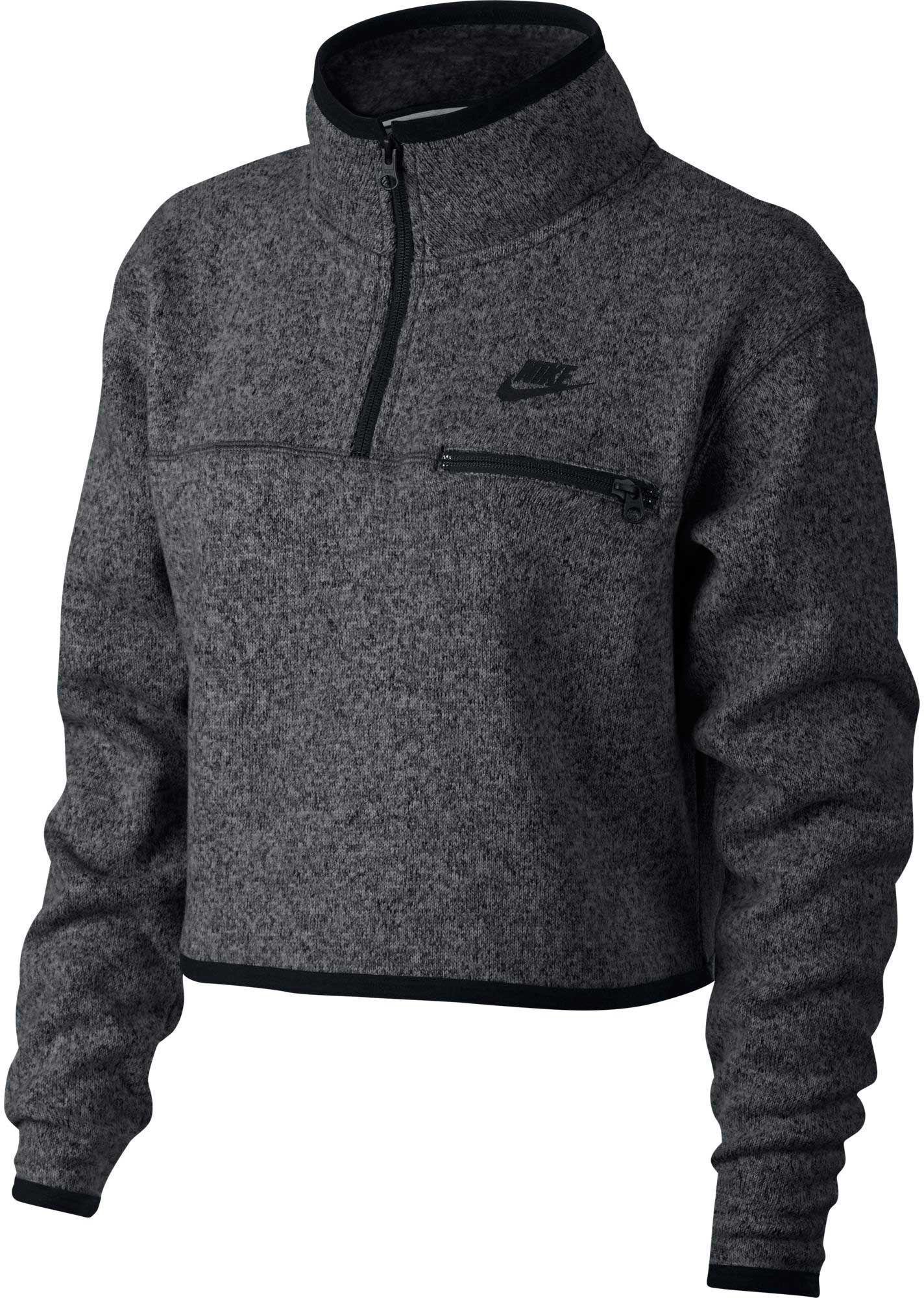 Lyst - Nike Sportswear Summit 12 Zip Cropped Long Sleeve -3343