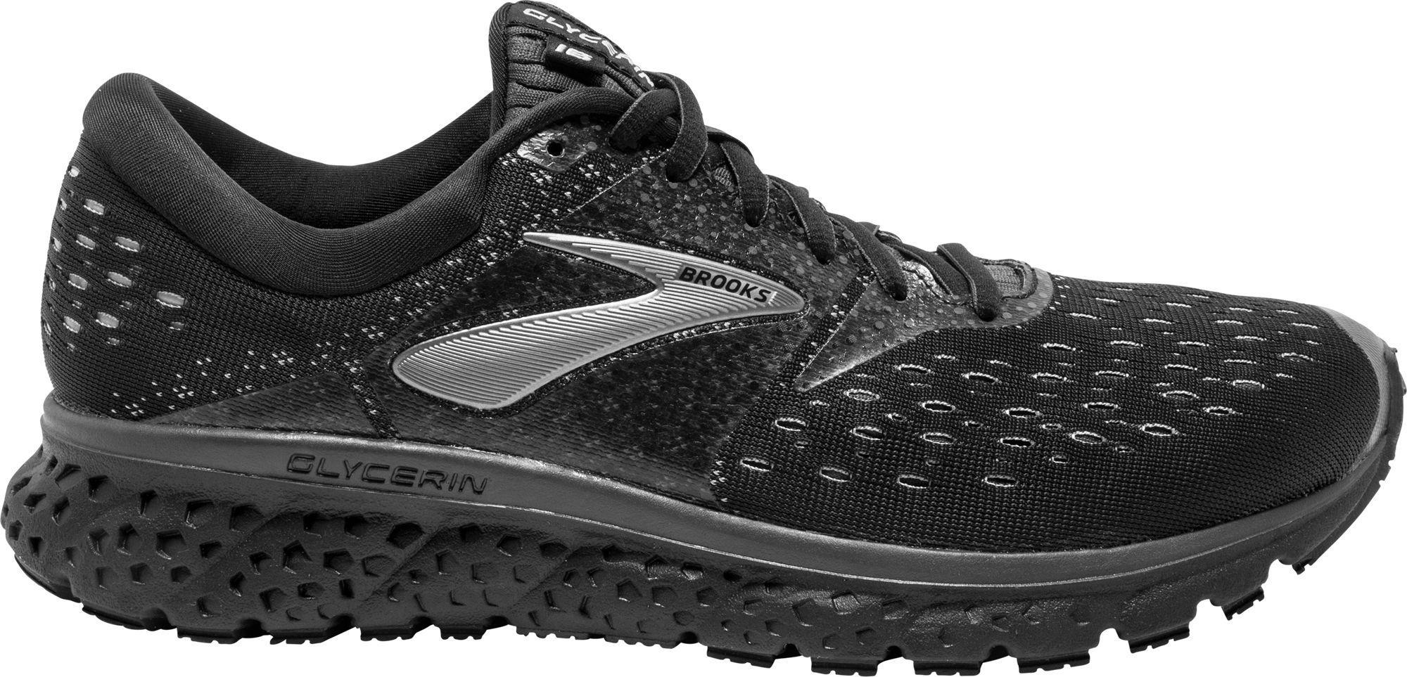 42d18f12523 Lyst - Brooks Glycerin 16 Running Shoes in Black for Men