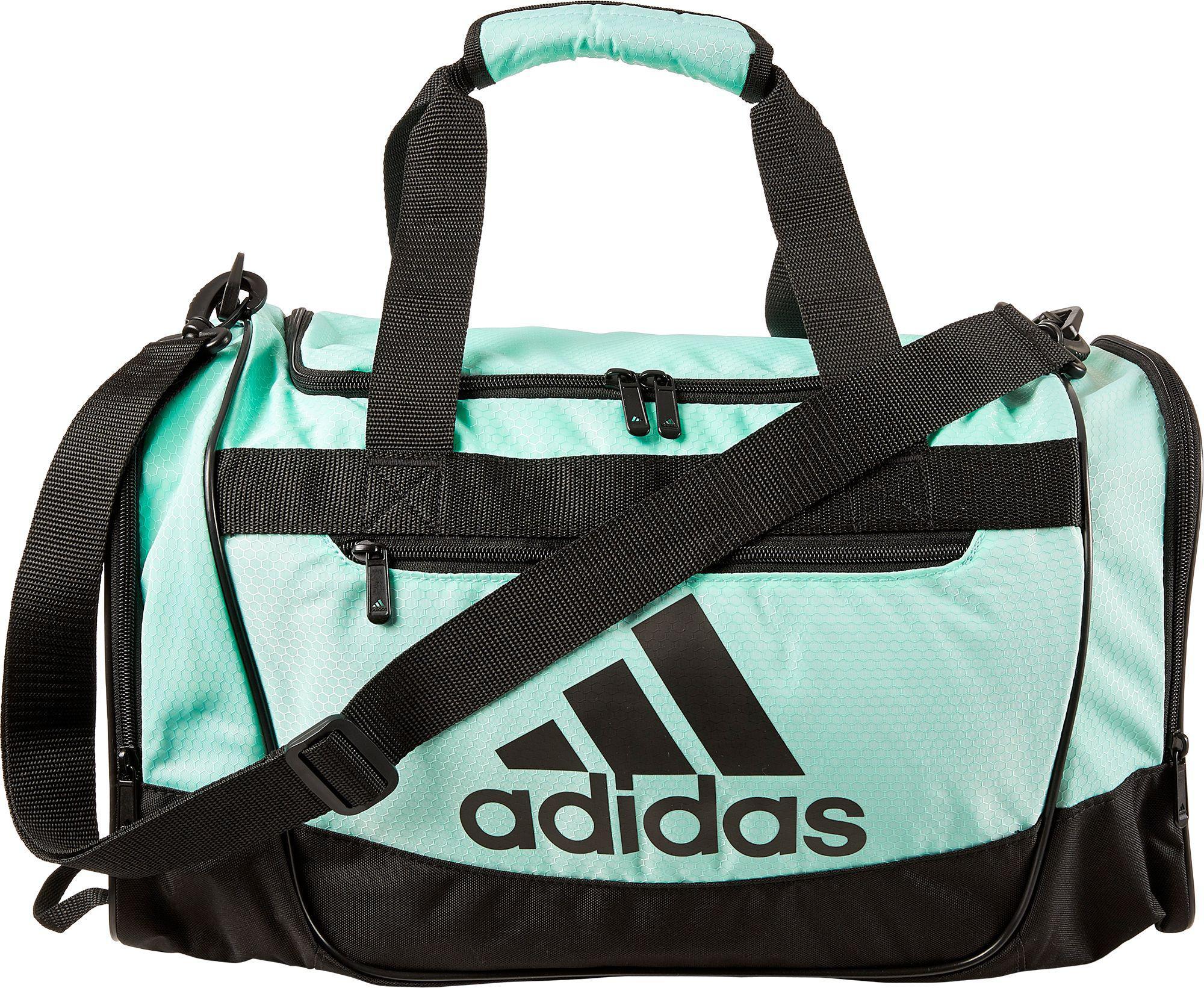 4a8db667ac Lyst - adidas Defender Iii Small Duffle Bag in Green for Men
