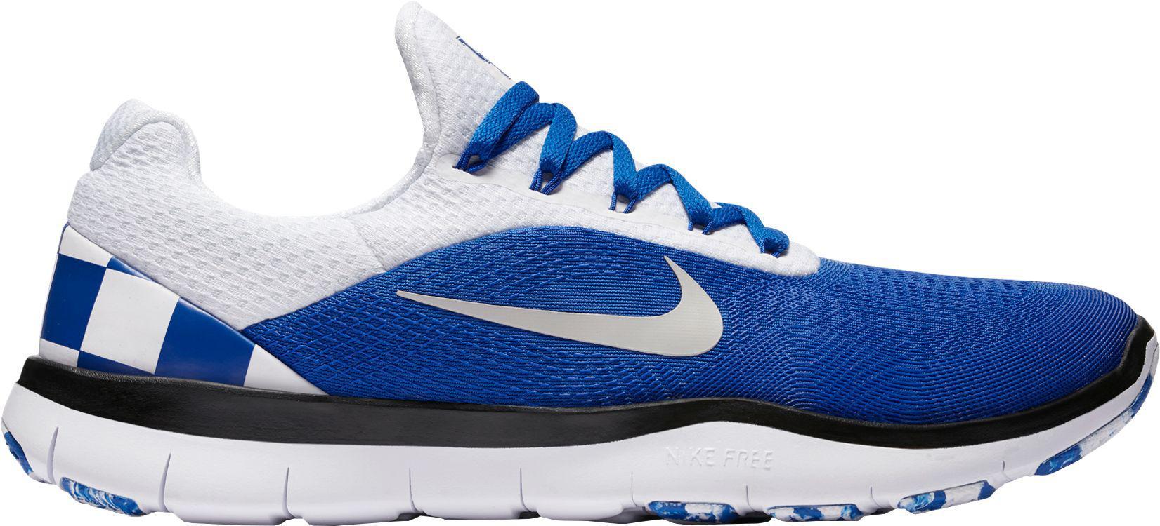 Nike. Men's Blue Free Trainer V7 Week Zero Kentucky Edition Training Shoes