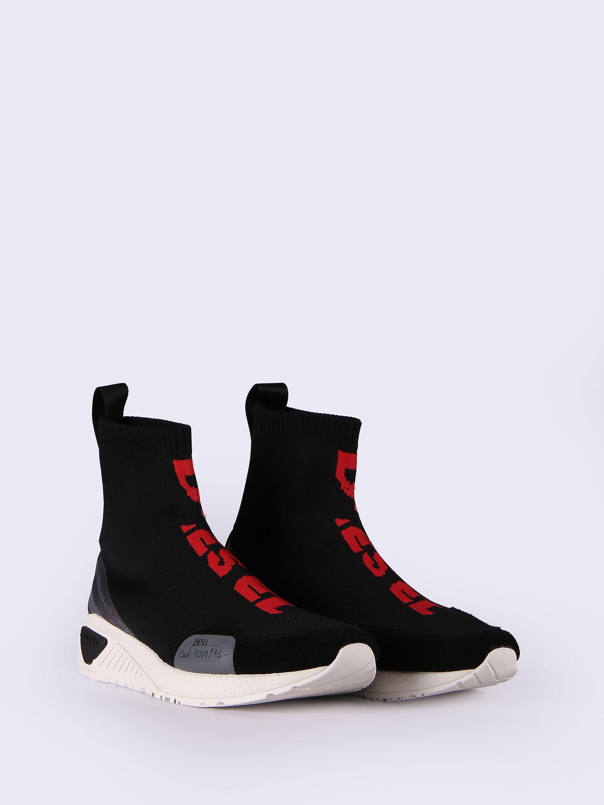 DIESEL S-kb Mid Sock in Black for Men