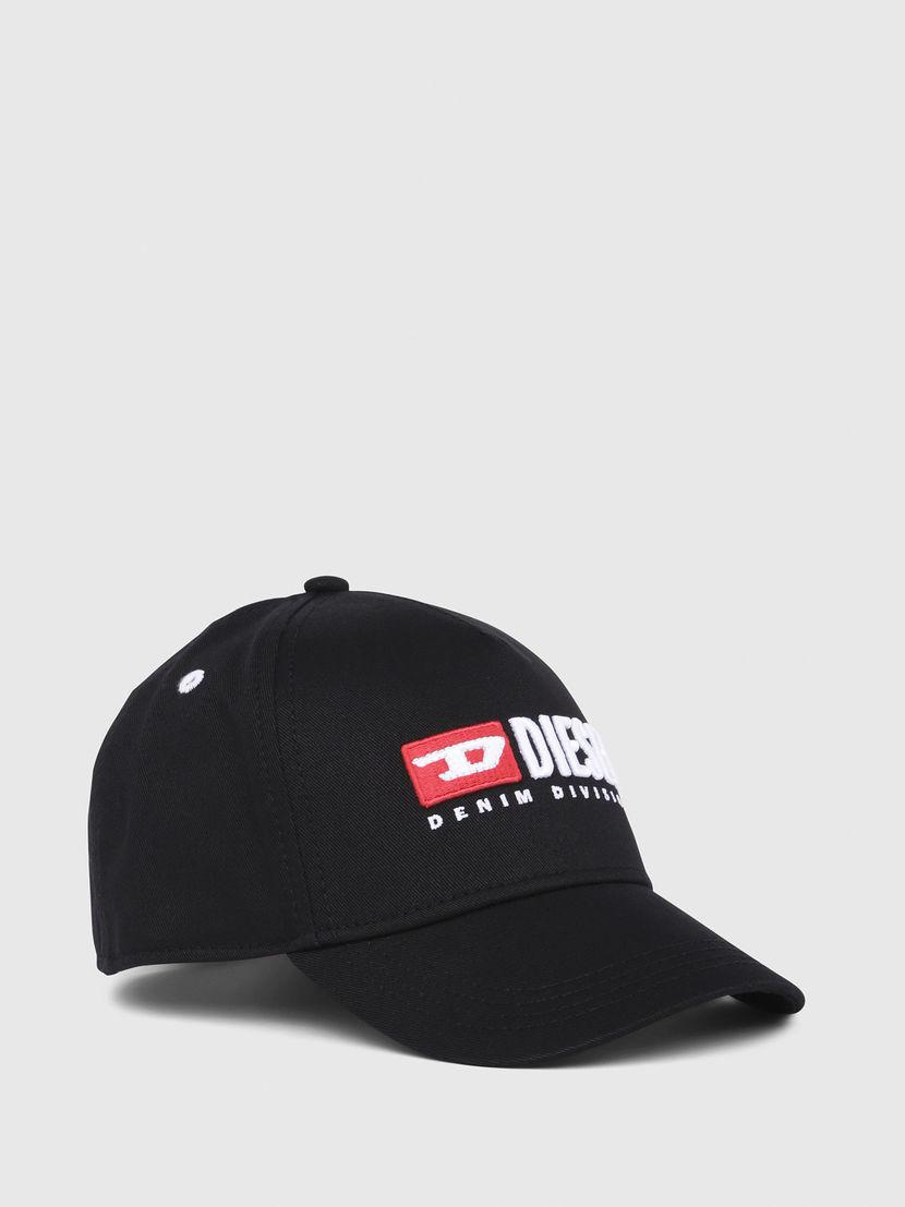 10700b2609d Diesel Baseball Cap With Embroidery in Black for Men - Lyst