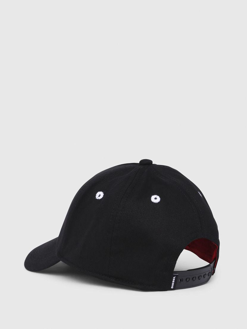 DIESEL - Black Baseball Cap With Embroidery for Men - Lyst. View fullscreen b2a1866d2b20