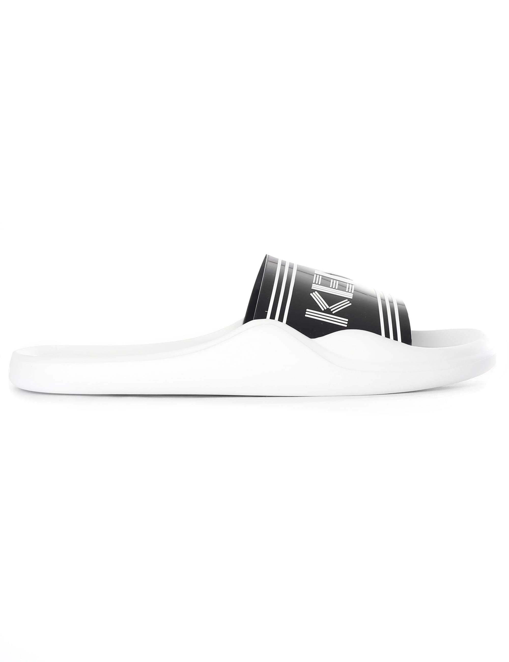 acb77db9dc560 KENZO - Black Sandals for Men - Lyst. View fullscreen