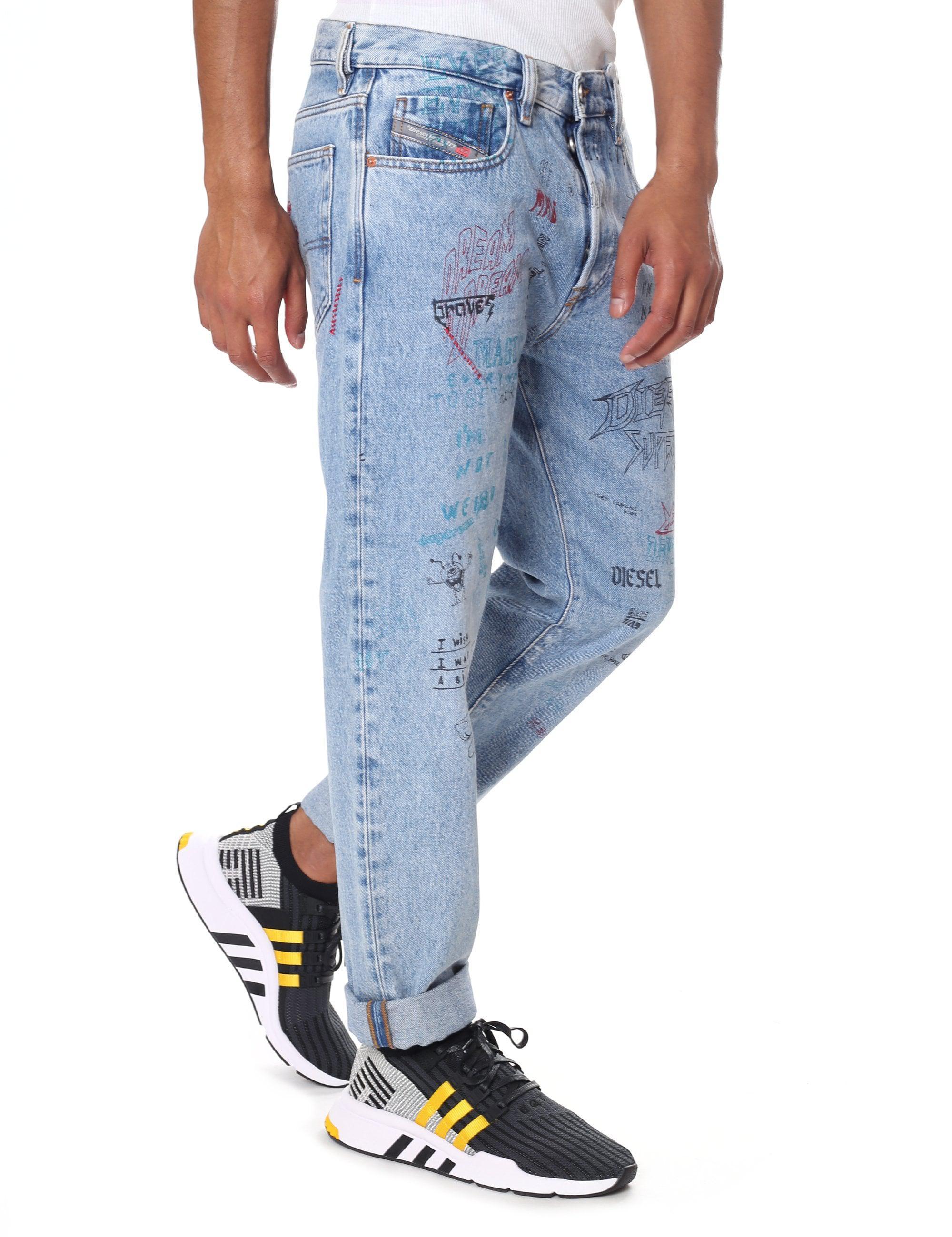 b5fd492c DIESEL Slim Fit Jean in Blue for Men - Lyst