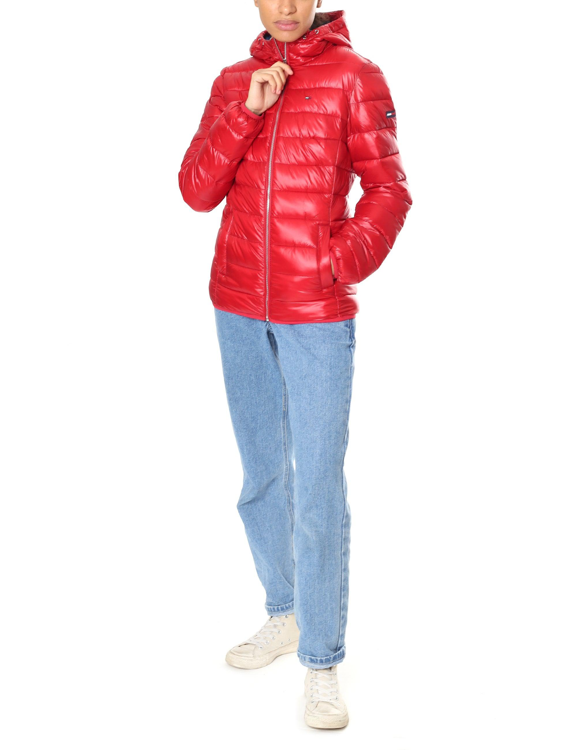 Tommy Hilfiger Synthetic Basic Quilted Hooded Jacket in ...