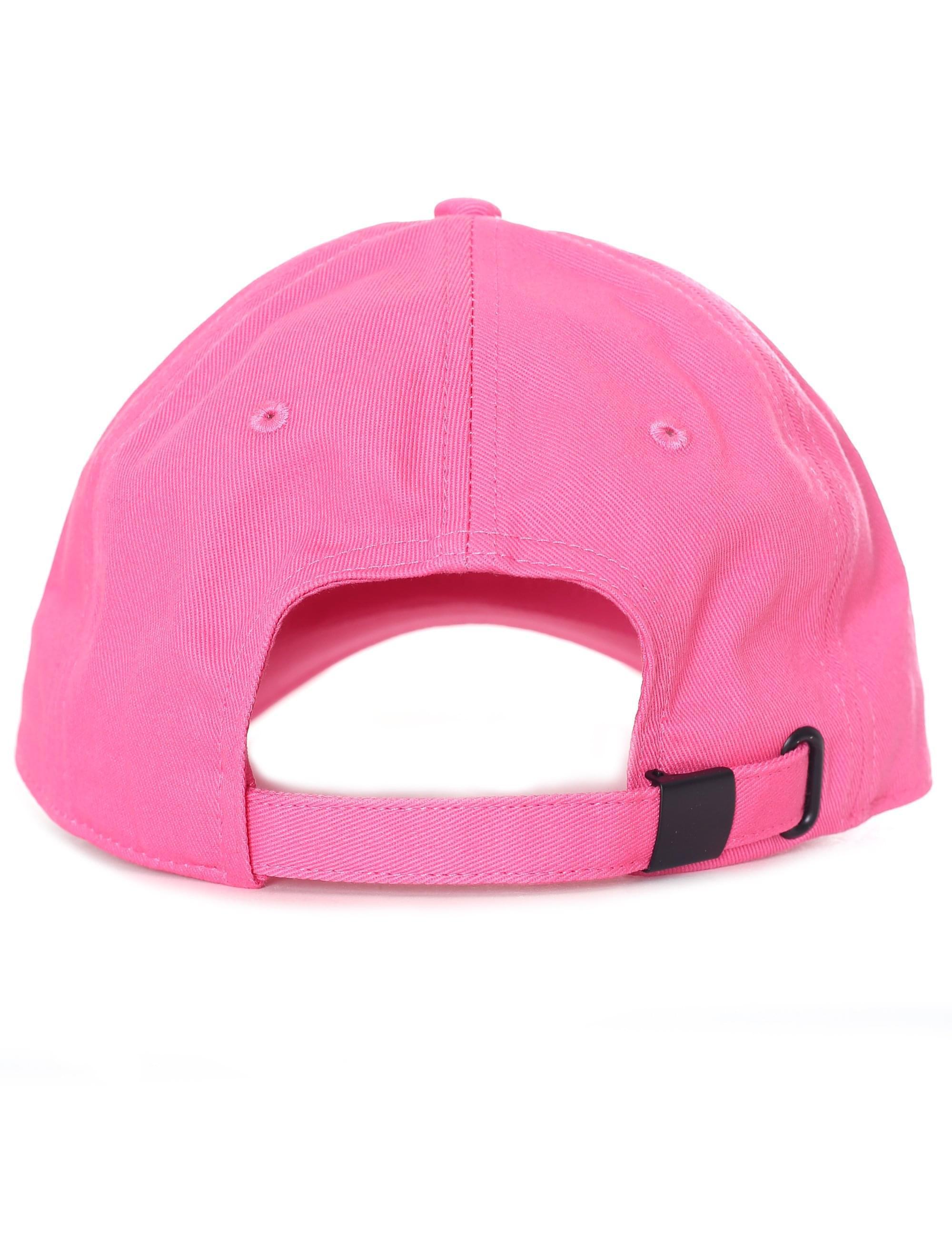 1708f730886 Calvin Klein Logo Patch Cap in Pink - Lyst