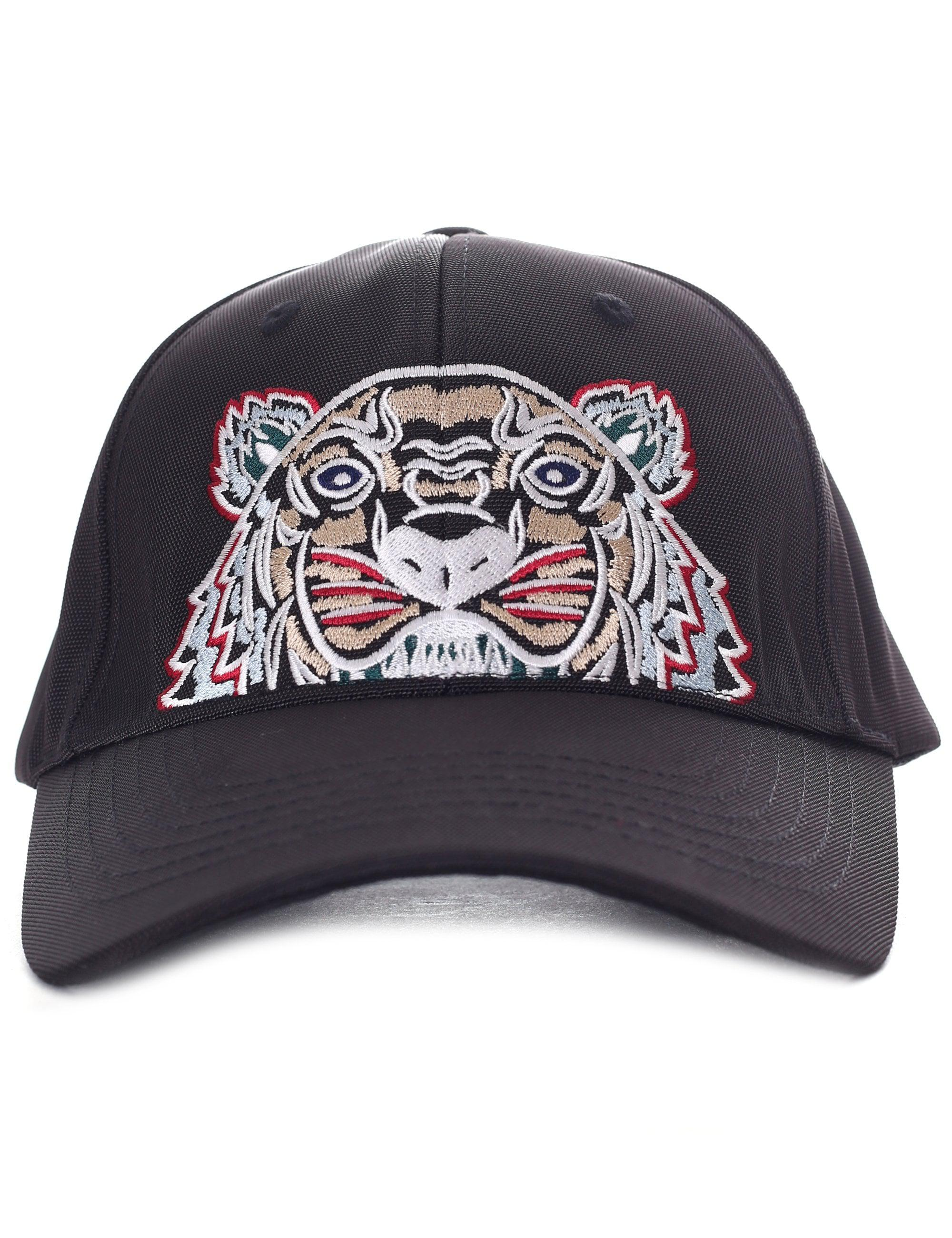KENZO Men s Tiger Canvas Cap Black in Black for Men - Save 42% - Lyst b8c079d512ef