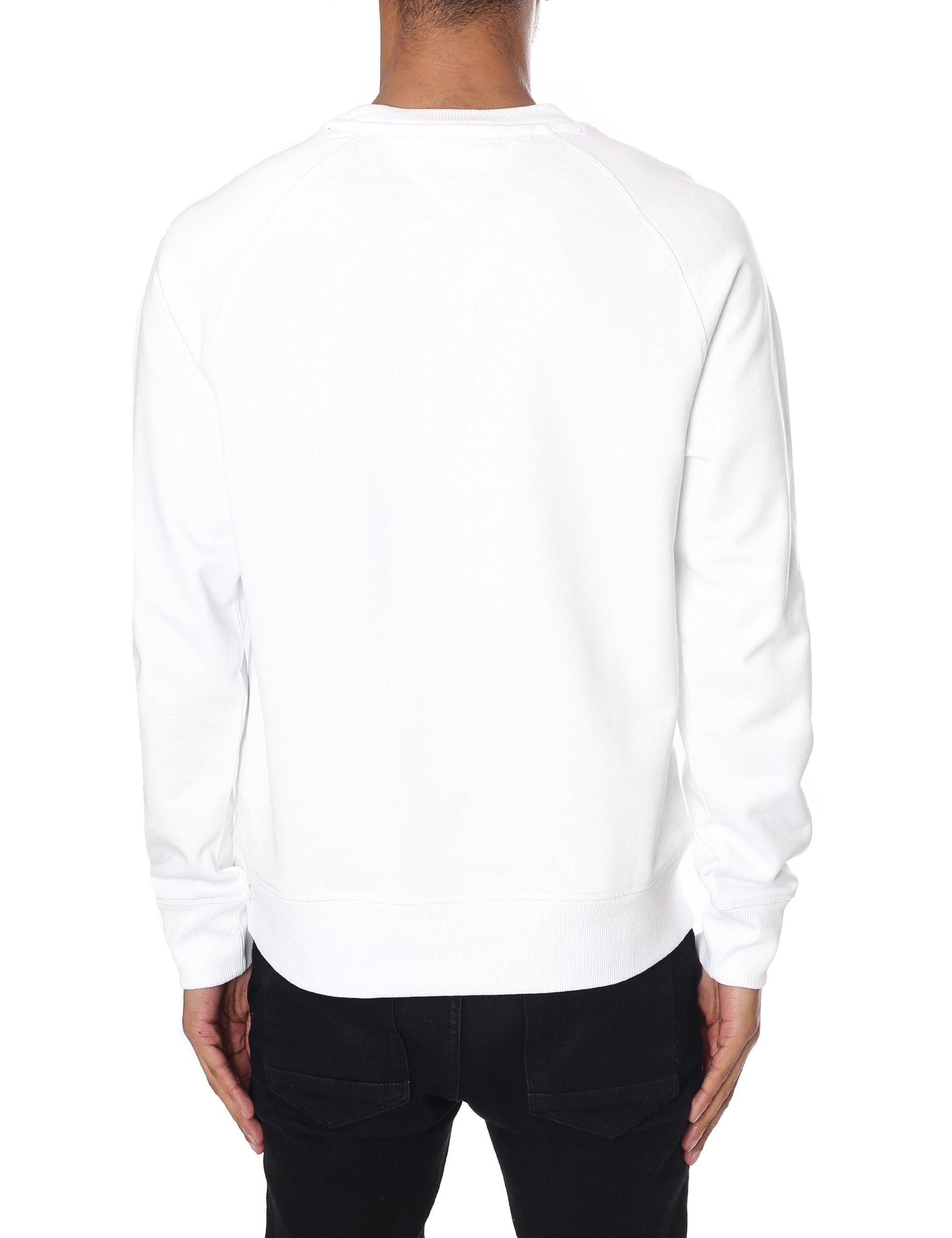 8dc55f728 Tommy Hilfiger New York Logo Embroidered Sweatshirt in White for Men - Save  1% - Lyst