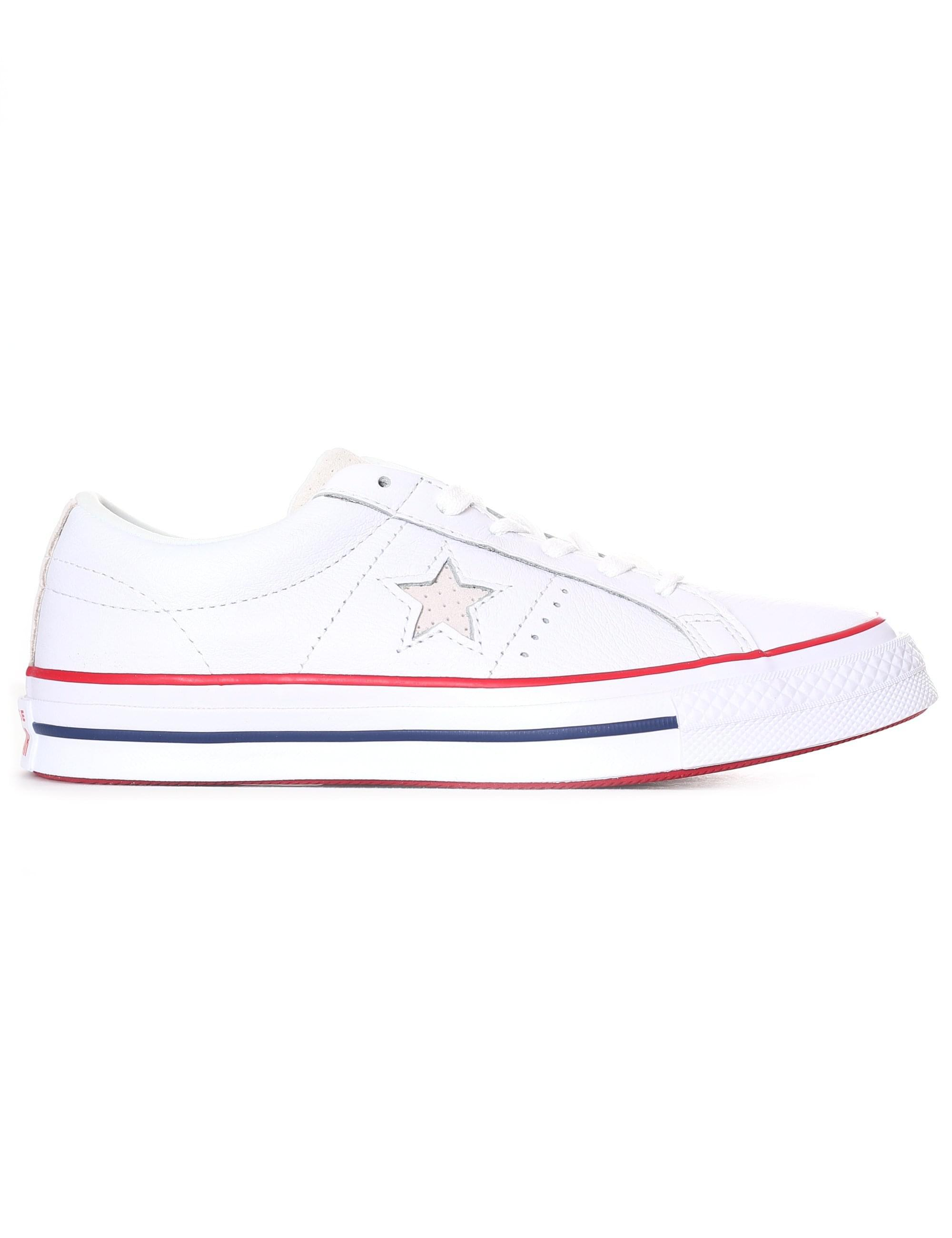 Converse Canvas One Star New Heritage in White Lyst