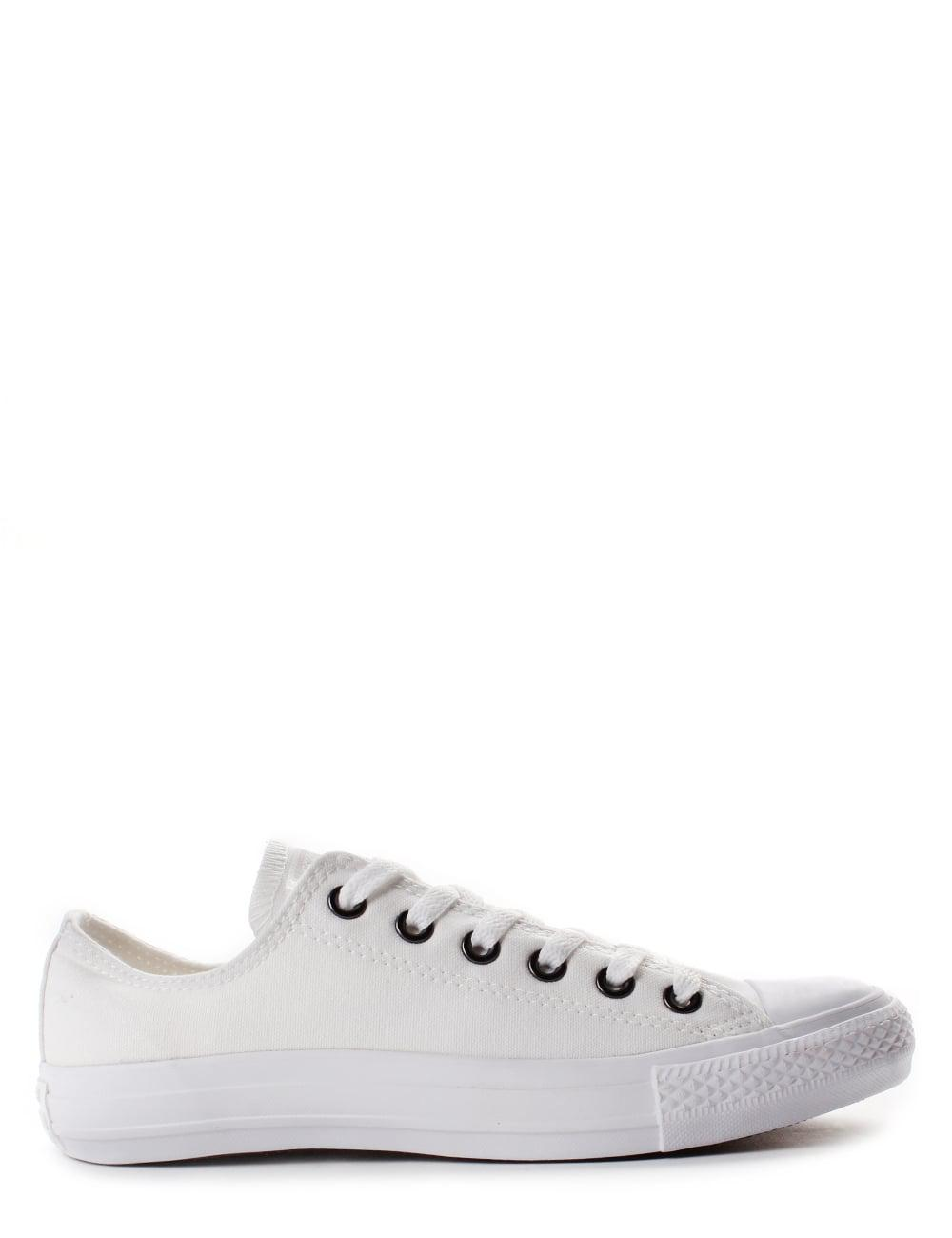 Dead in the world You will get better audit  Converse 1U647 Adult Unisex Chuck Taylor All Star Ox Low Top Shoes White  Mono