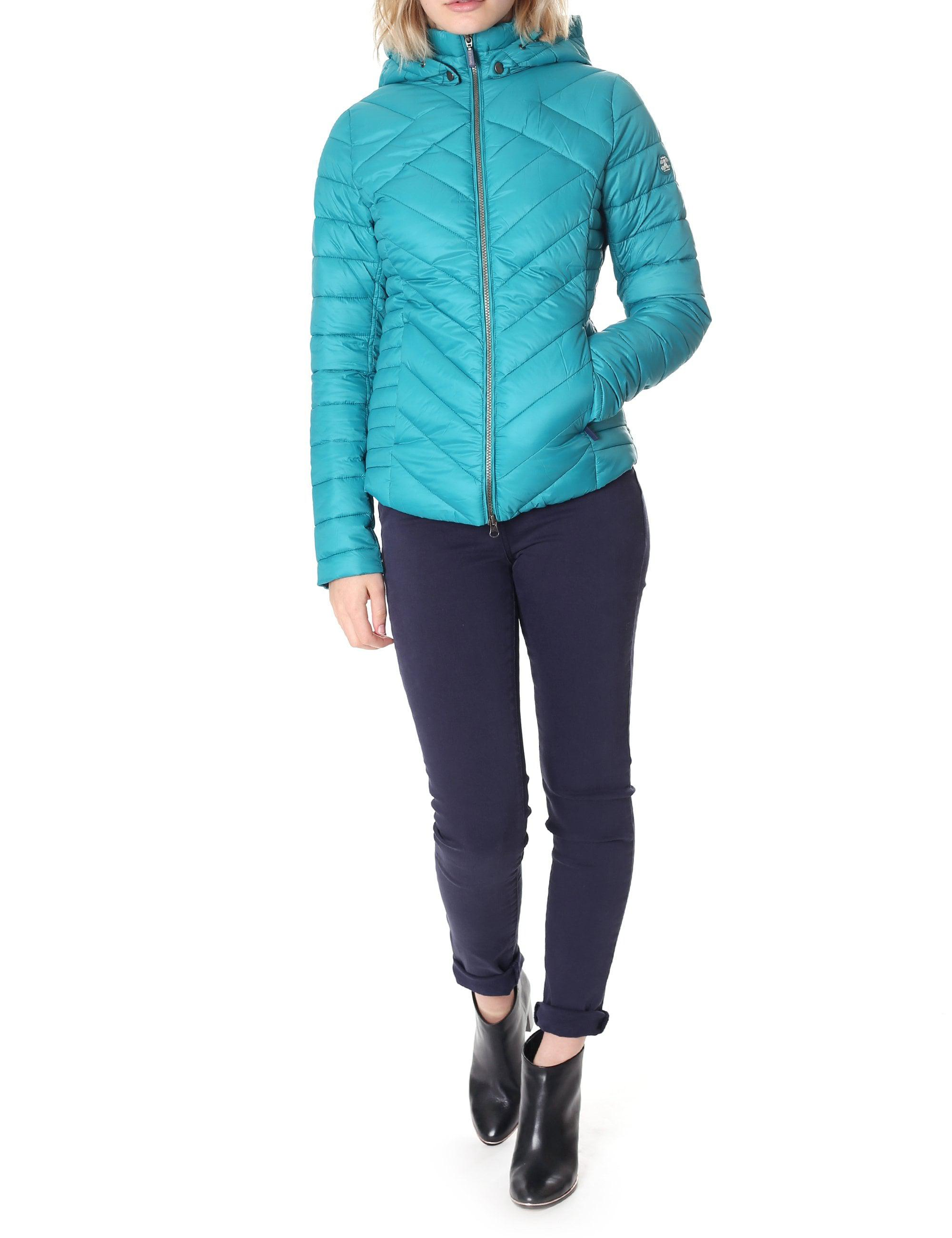 ecb2eb8ae909 Barbour Women s Pentle Quilt Jacket Seaglass in Blue - Lyst