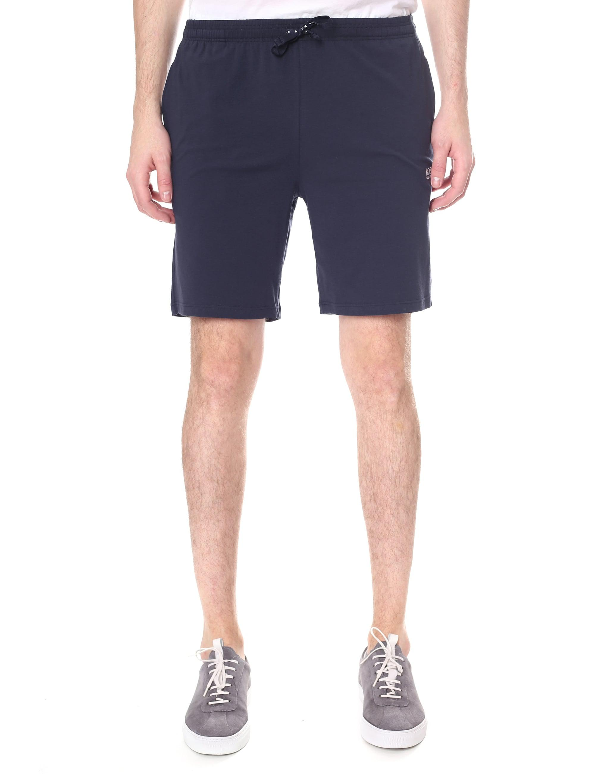 Lyst Boss Black Mix And Match Tie Waist Shorts In Blue For Men