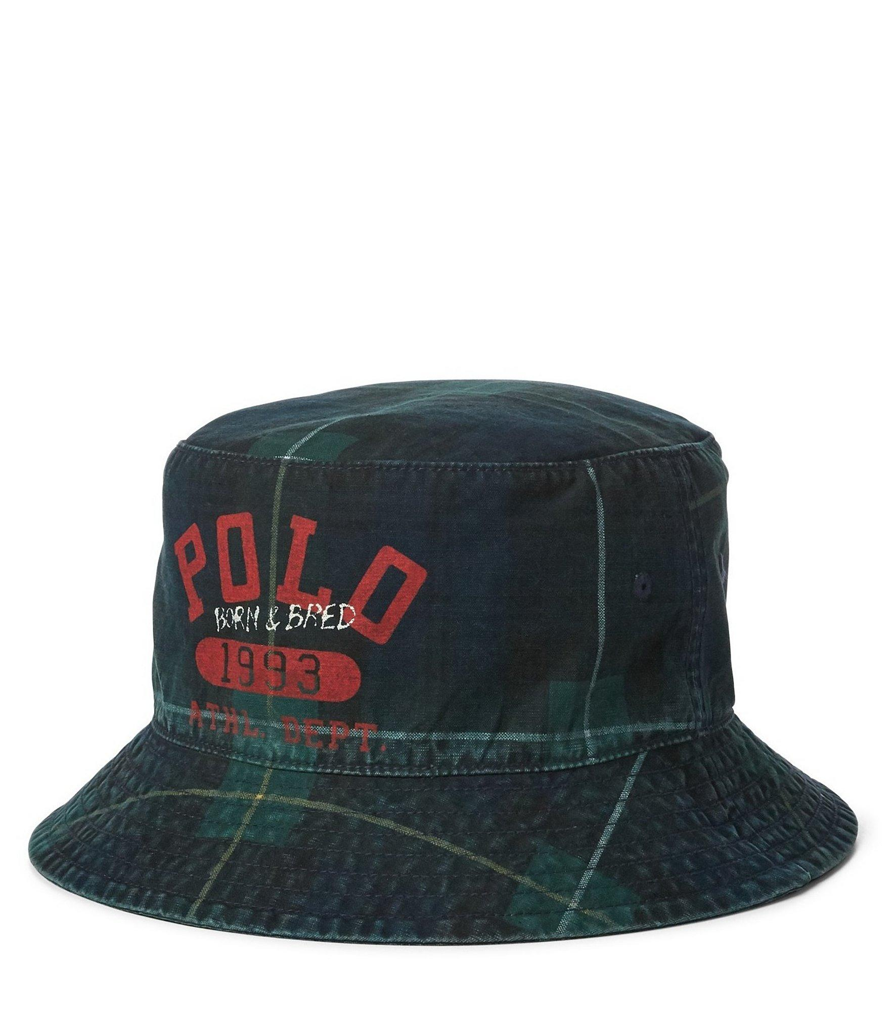 0ba3430ce11b1 Polo Ralph Lauren Yale Bucket Hat in Green for Men - Lyst