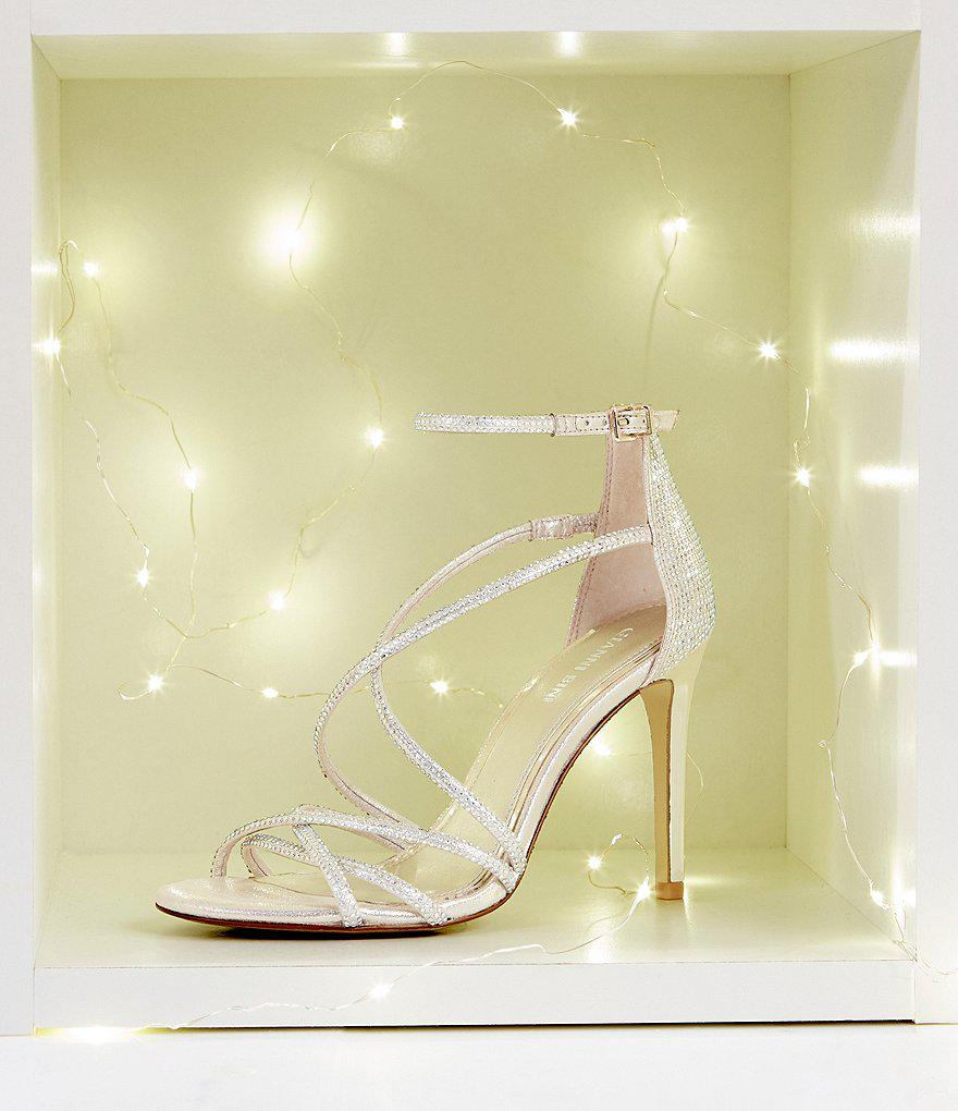 Anselle Jeweled Strappy Dress Sandals CuM9sYt