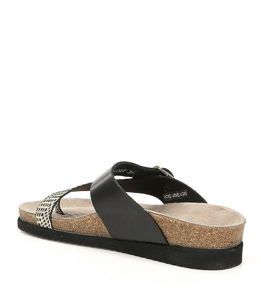 Mephisto Helen Mix Footbed Thong Sandals DPr32Z