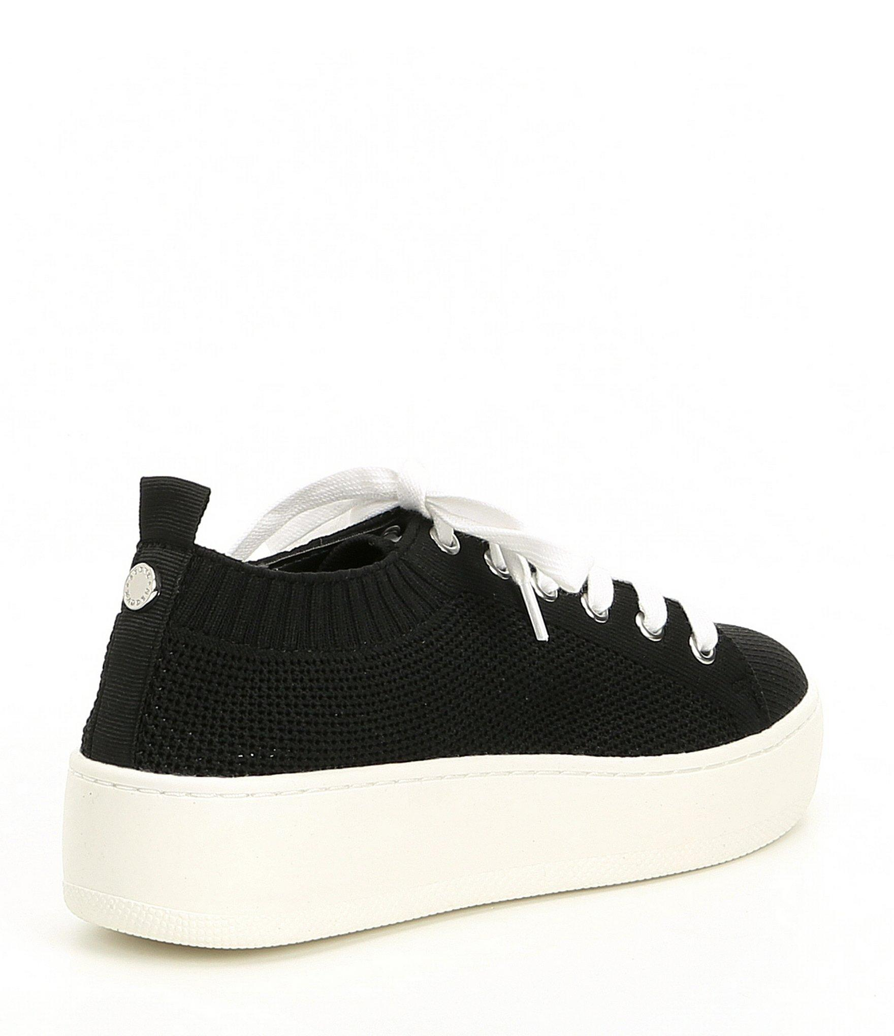 856bf871b5d Steve Madden - Black Bardo Perforated Lace-up Sneakers - Lyst. View  fullscreen