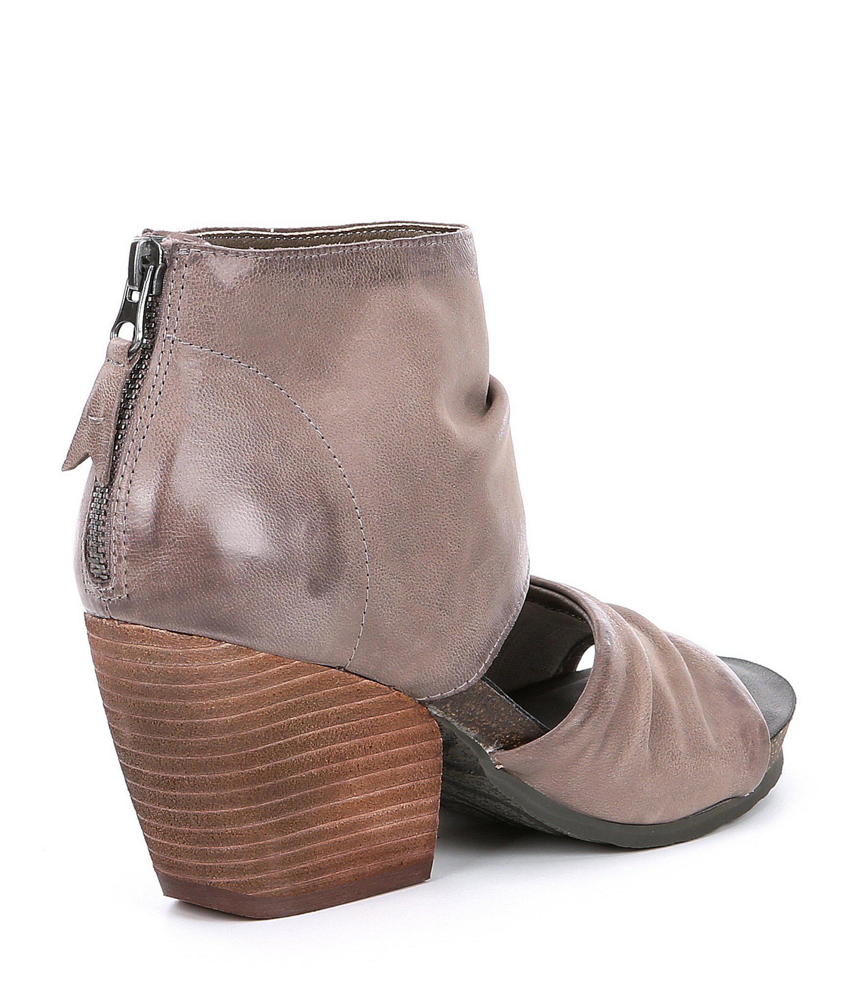 877c728f1c1 Lyst - Otbt Patchouli Leather Sandals in Brown