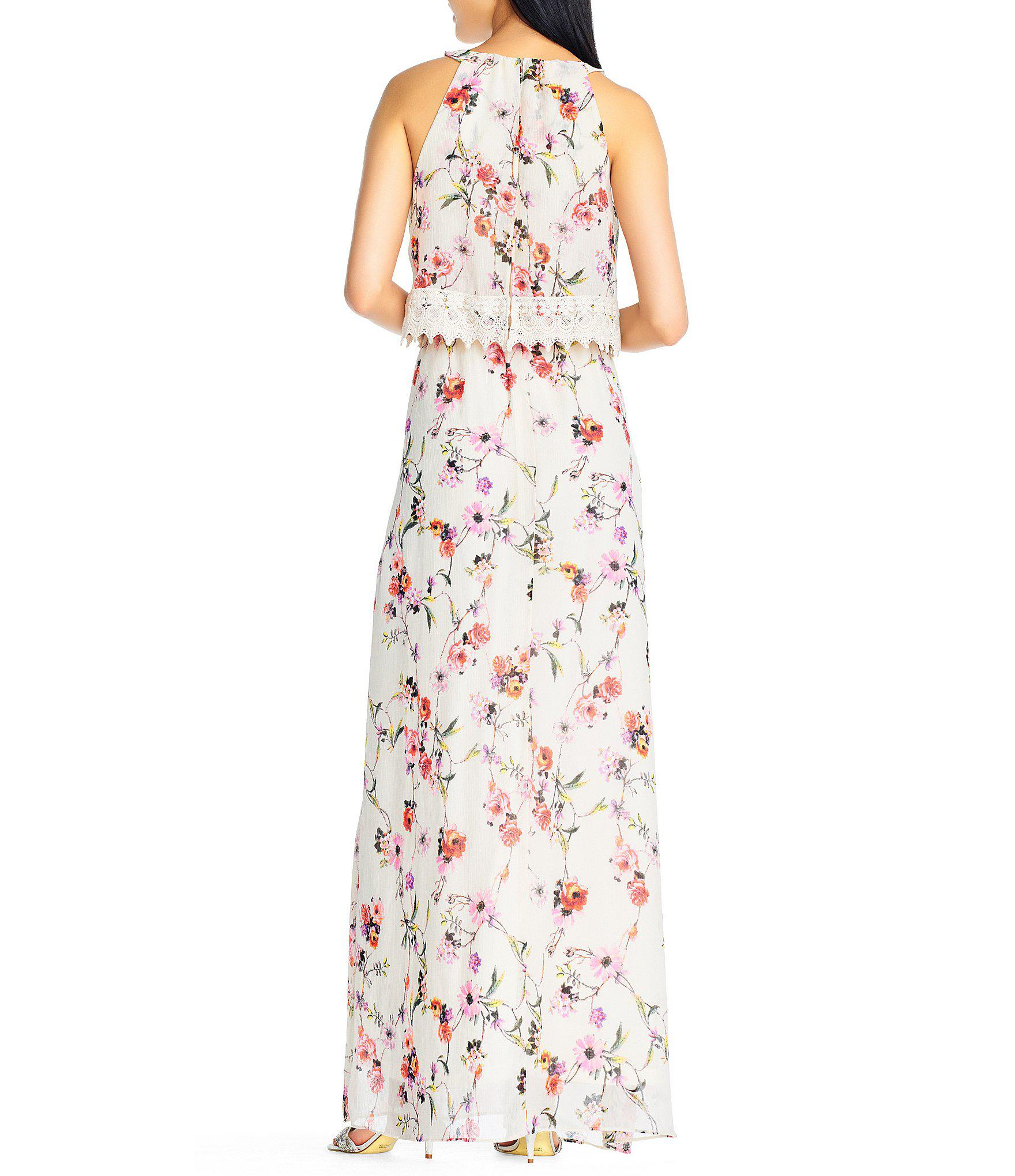 f0a1ccab661 Gallery. Previously sold at  Dillard s · Women s Adrianna Papell Floral  Dress ...