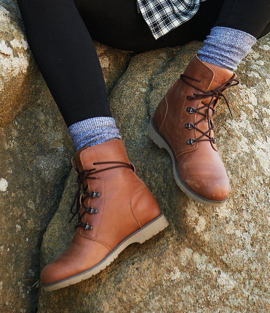 a99fd3371ff8a5 The North Face Women s Ballard Lace Ii Boot in Brown - Lyst