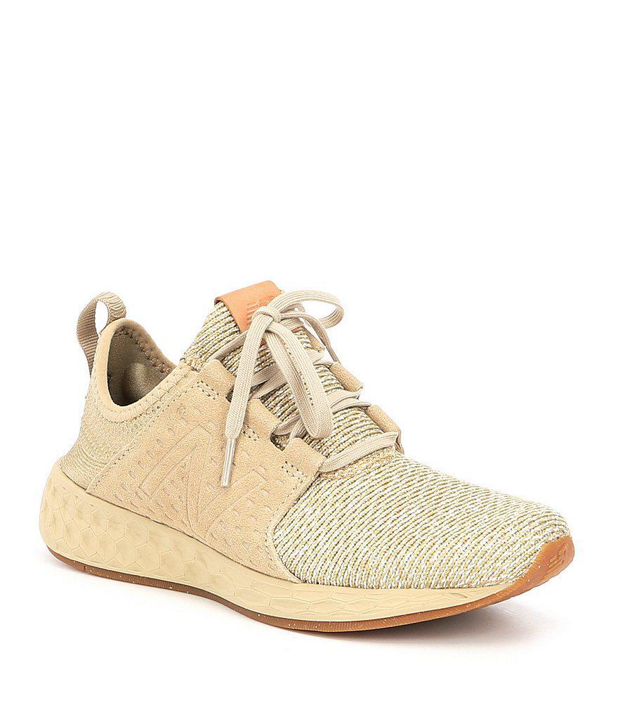 b8eac2d0727 Lyst - New Balance Women s Fresh Foam Cruz Sneakers