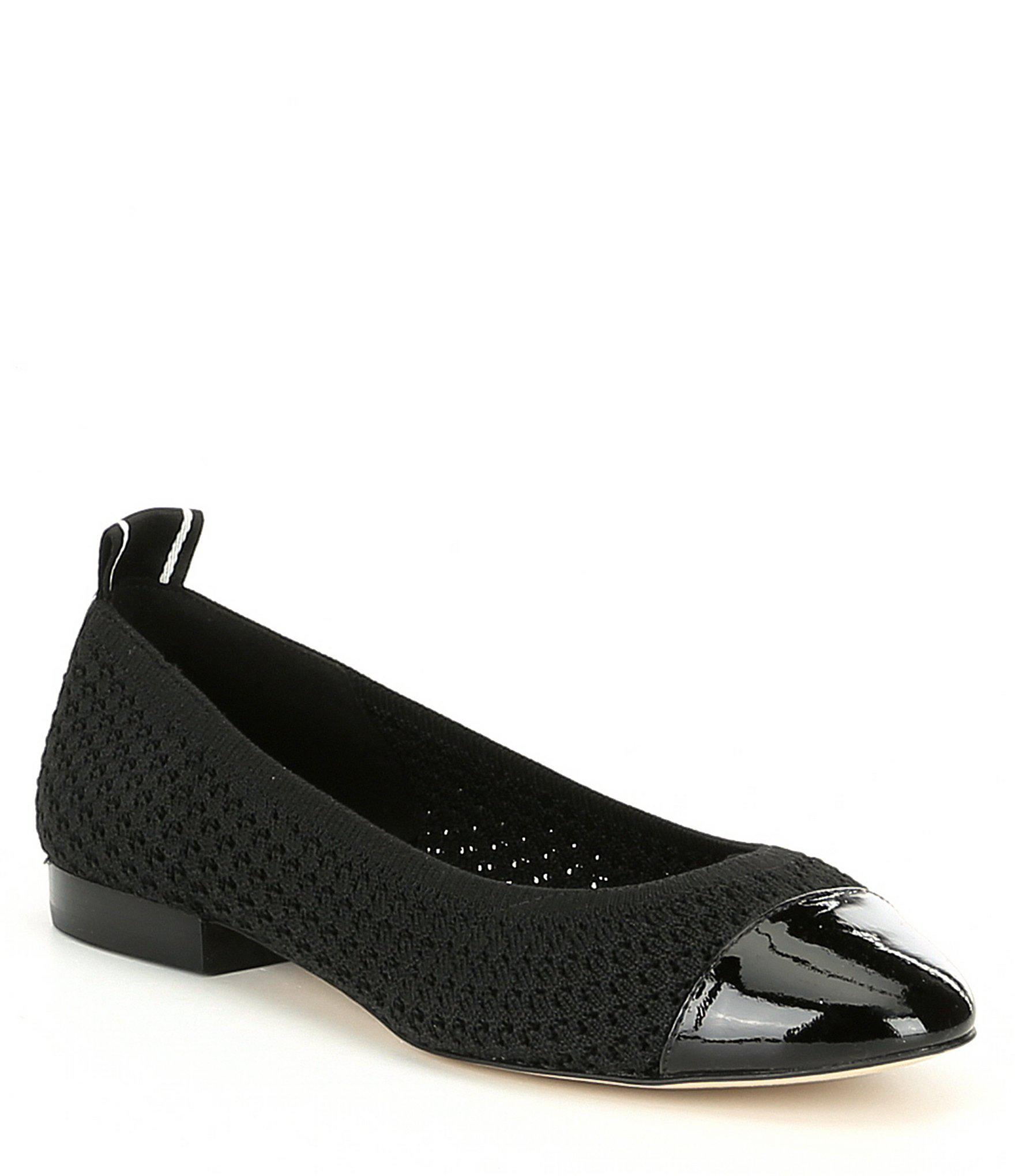 56f2c960147 Lyst - MICHAEL Michael Kors Vicky Ballet Flats in Black - Save 40%