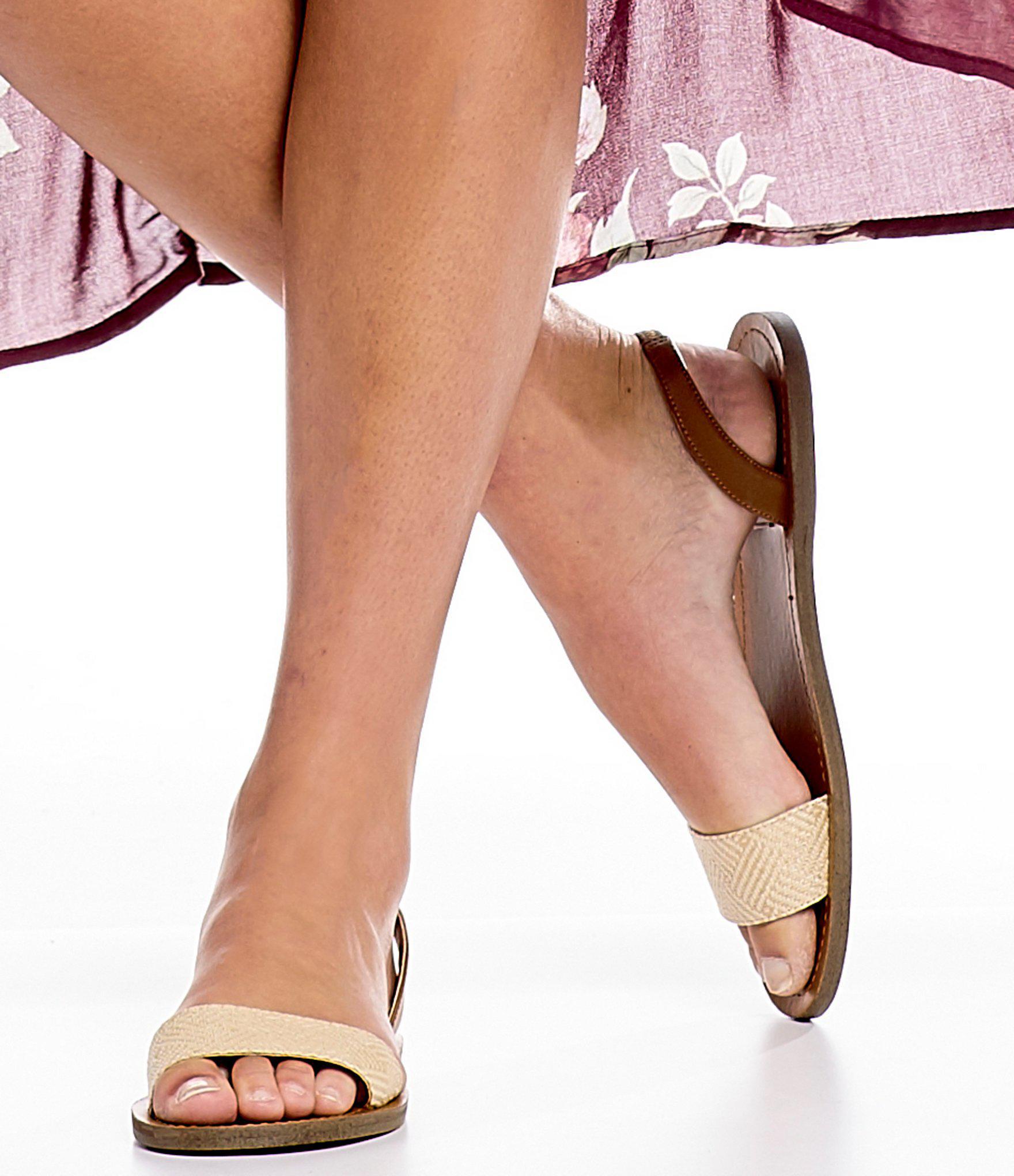 f523c09598f Steve Madden Multicolor Alina Raffia Slingback Sandals