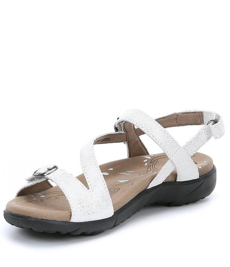 Beauty Metallic Leather Sandals UwAdLHQCh